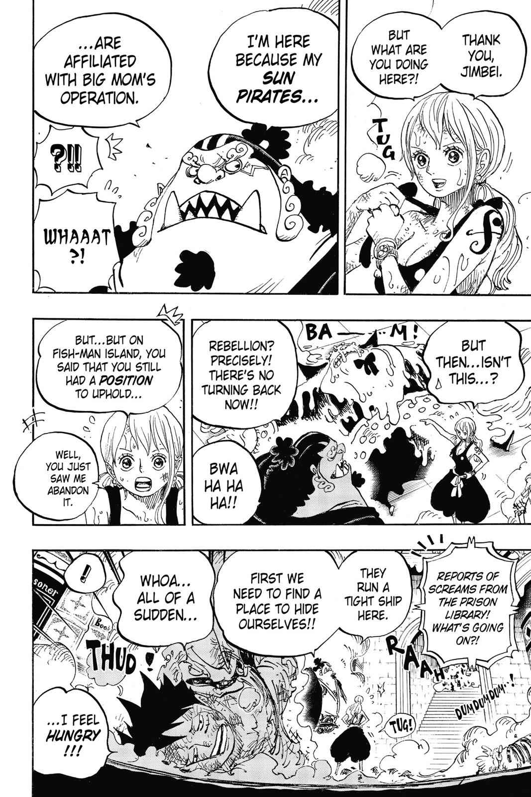 One Piece Chapter 852 Page 6