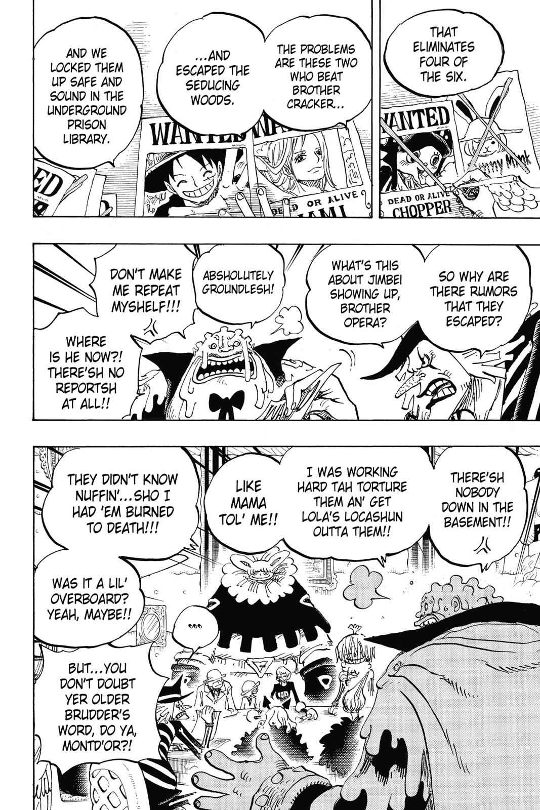 One Piece Chapter 854 Page 12