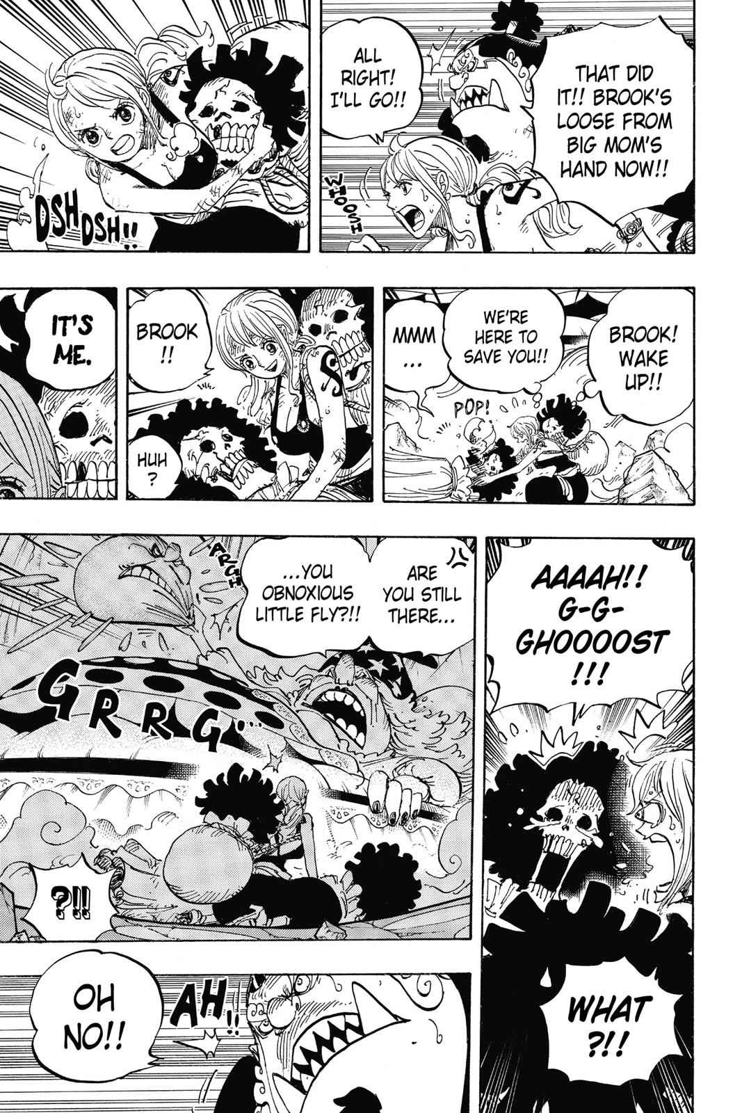 One Piece Chapter 855 Page 10