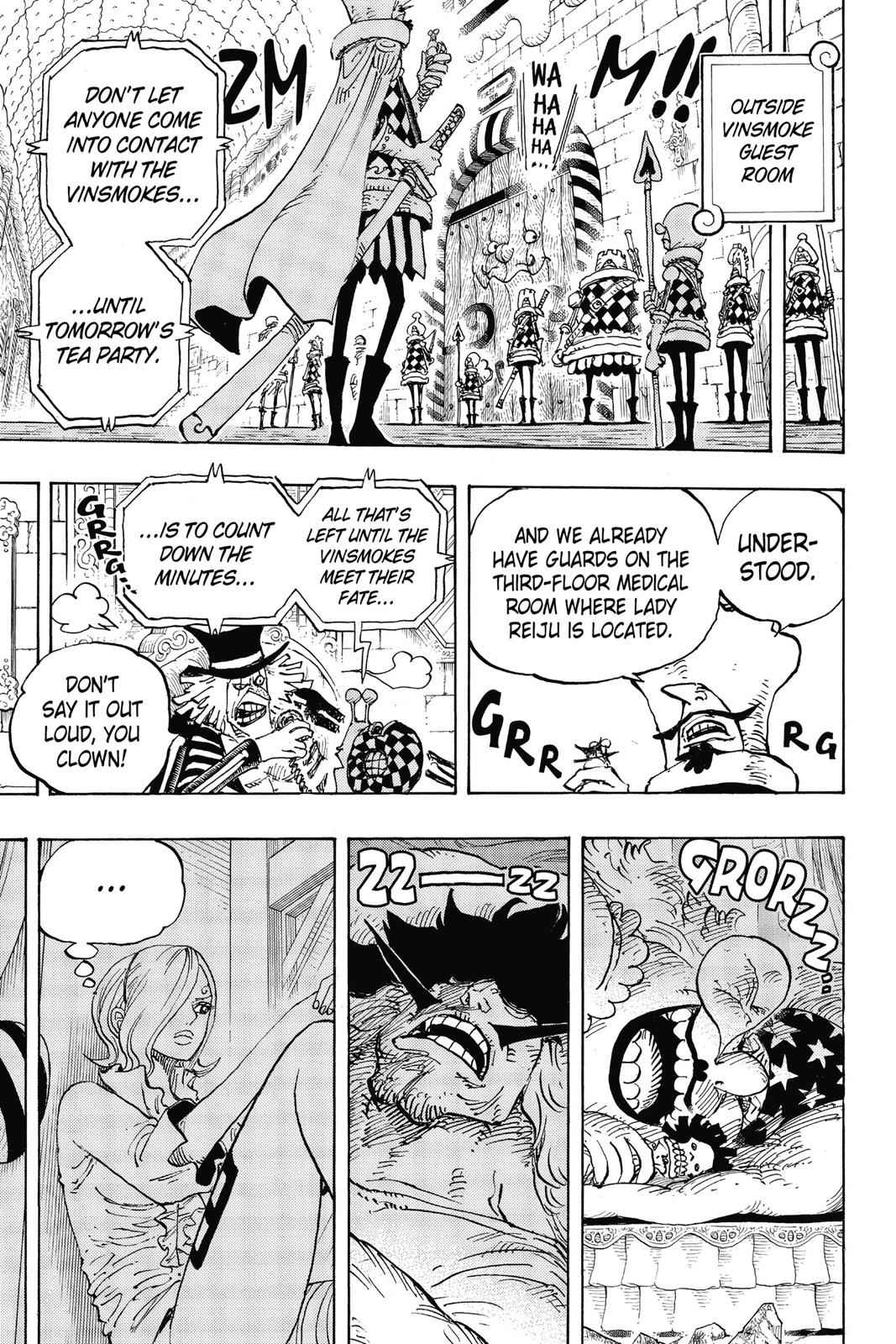 One Piece Chapter 856 Page 7