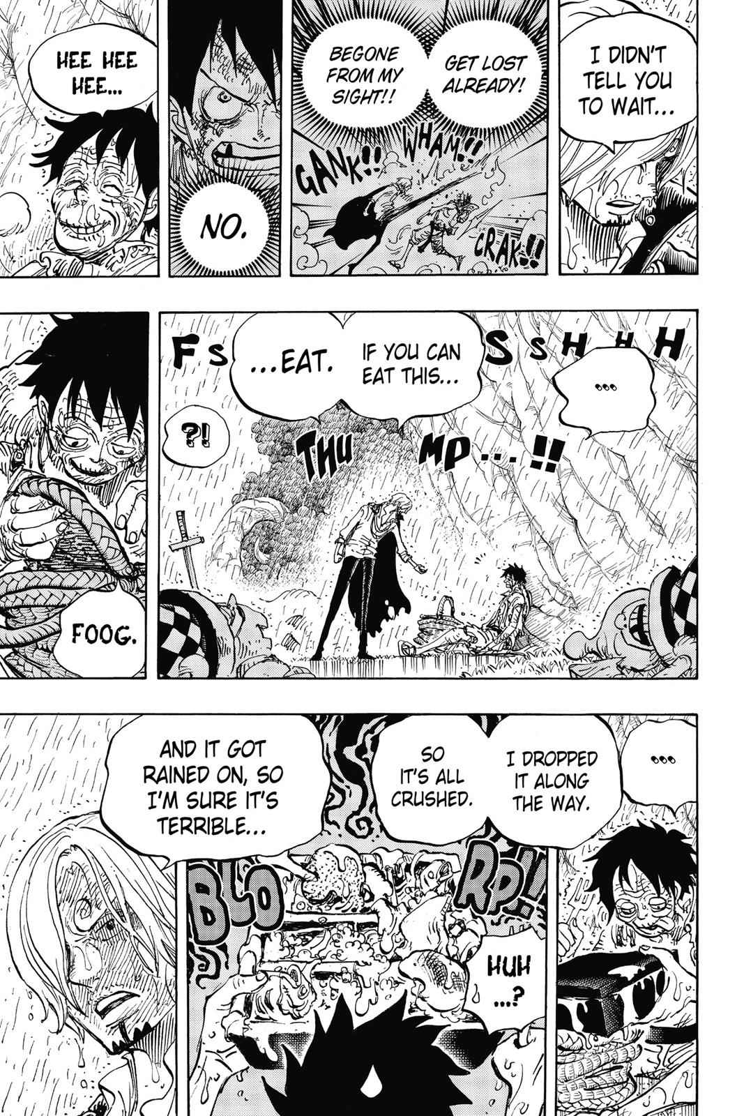 One Piece Chapter 856 Page 9
