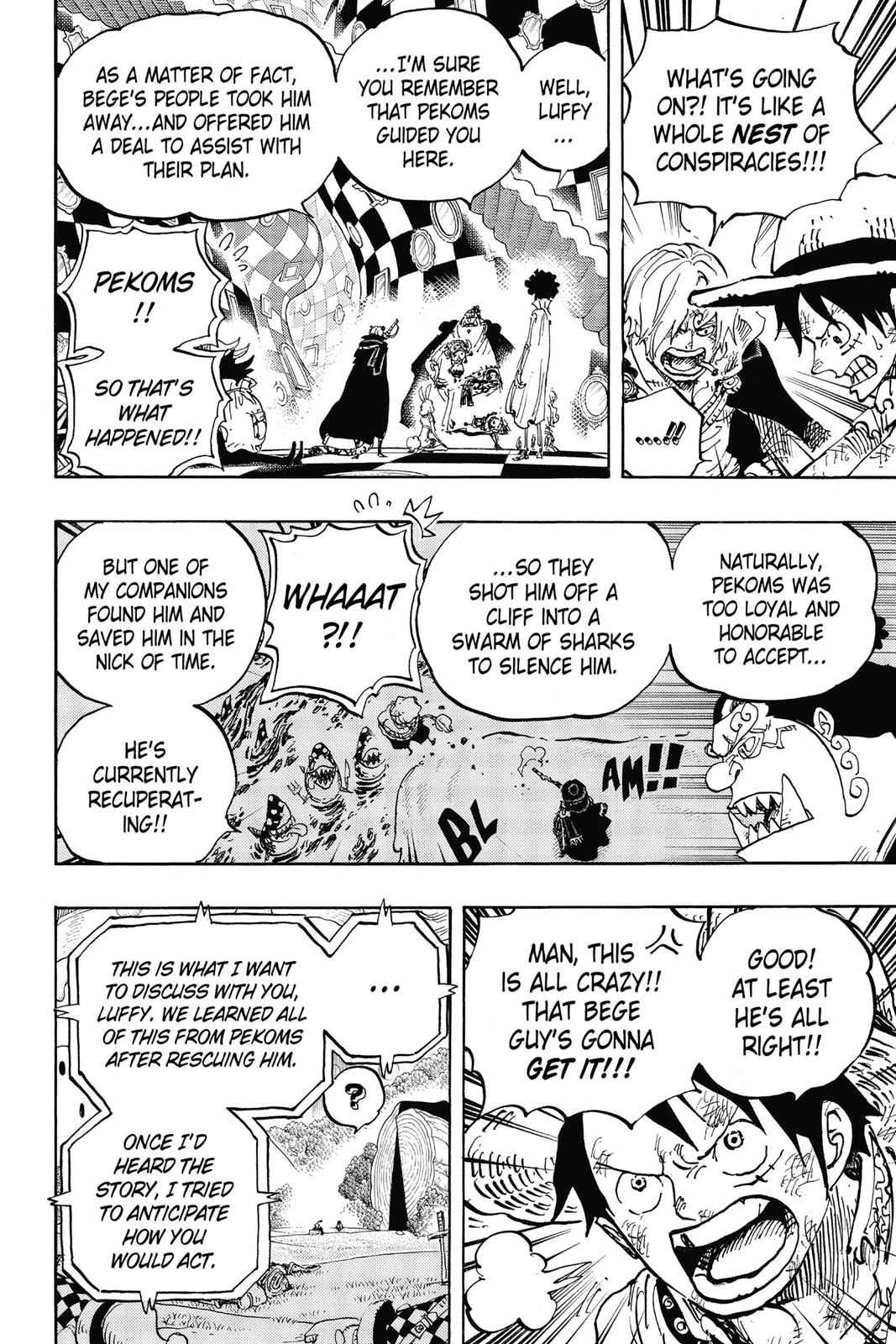 One Piece Chapter 857 Page 14