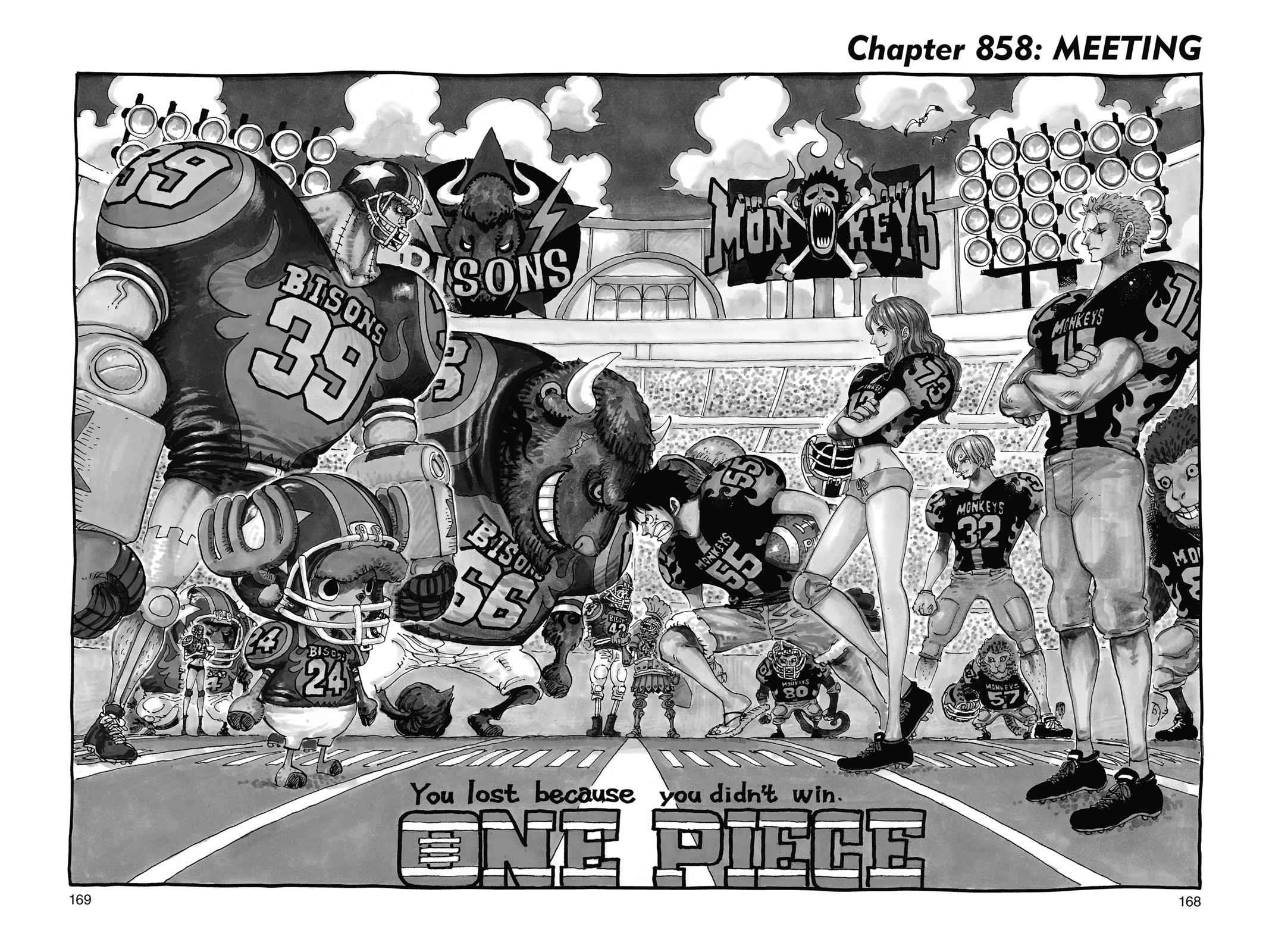 One Piece Chapter 858 Page 1