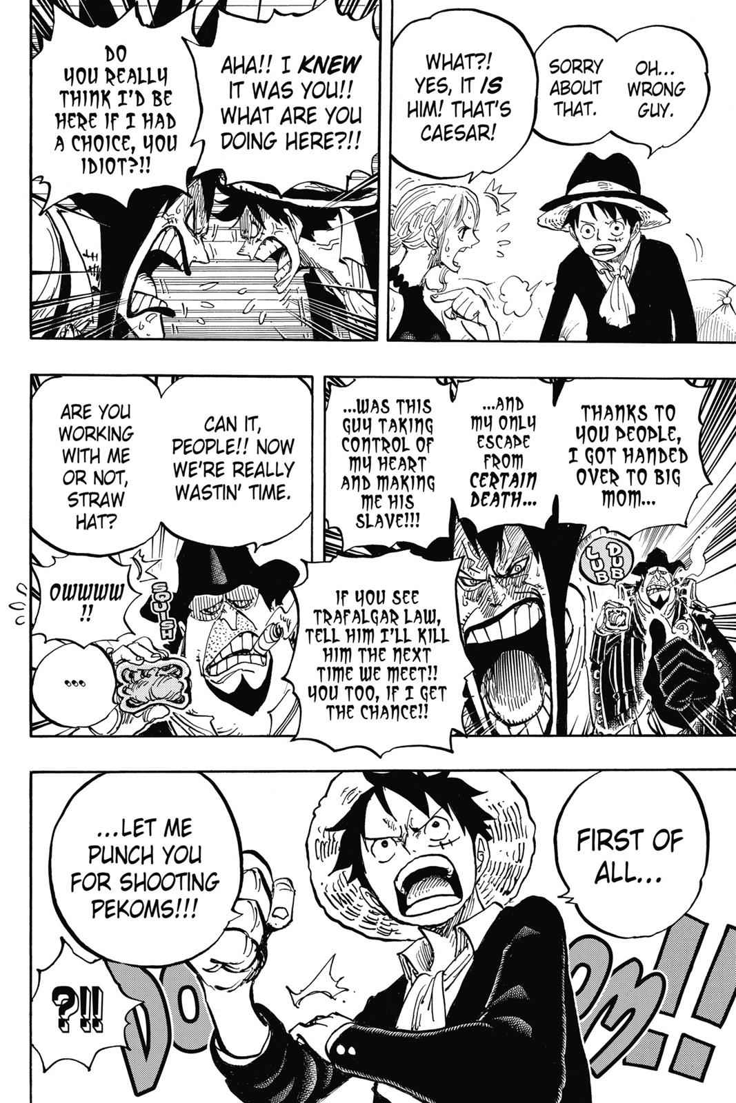 One Piece Chapter 858 Page 16