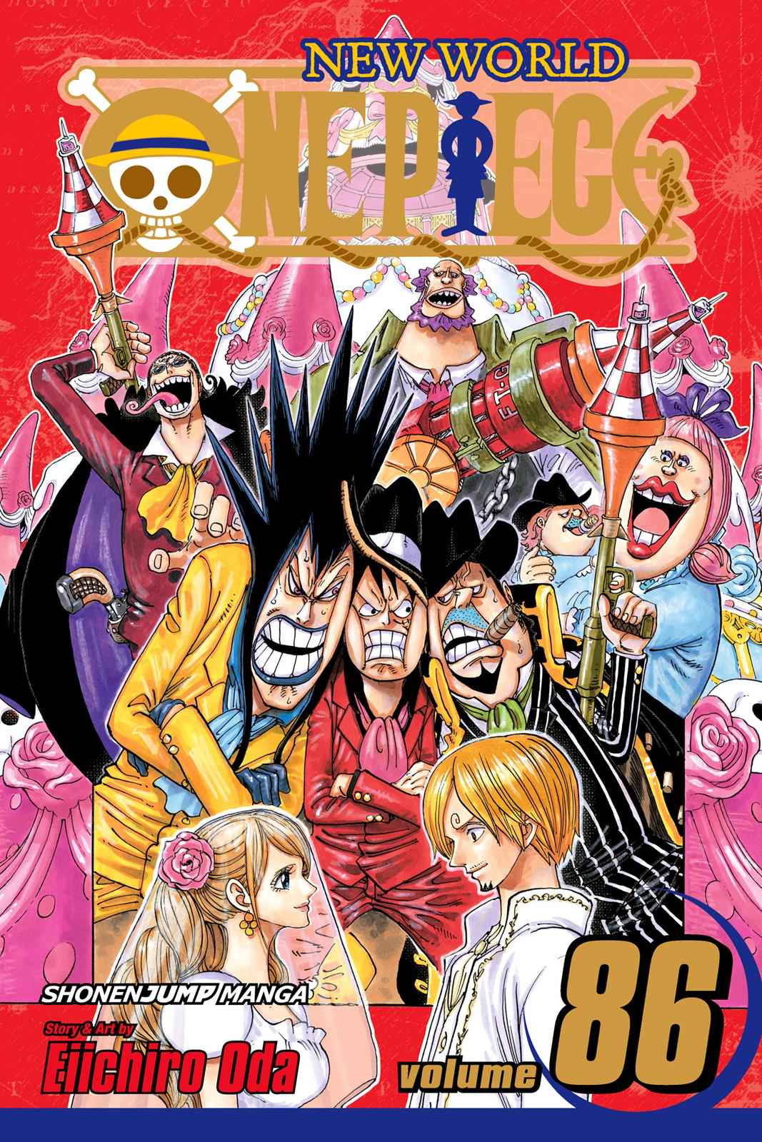 One Piece Chapter 859 Page 1