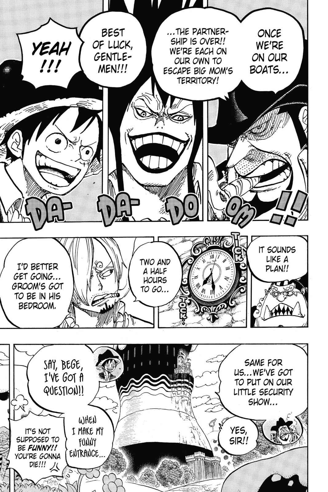 One Piece Chapter 859 Page 18