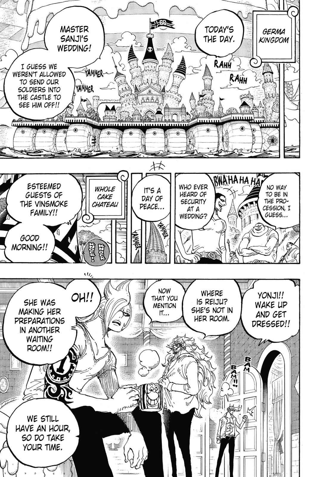 One Piece Chapter 859 Page 20