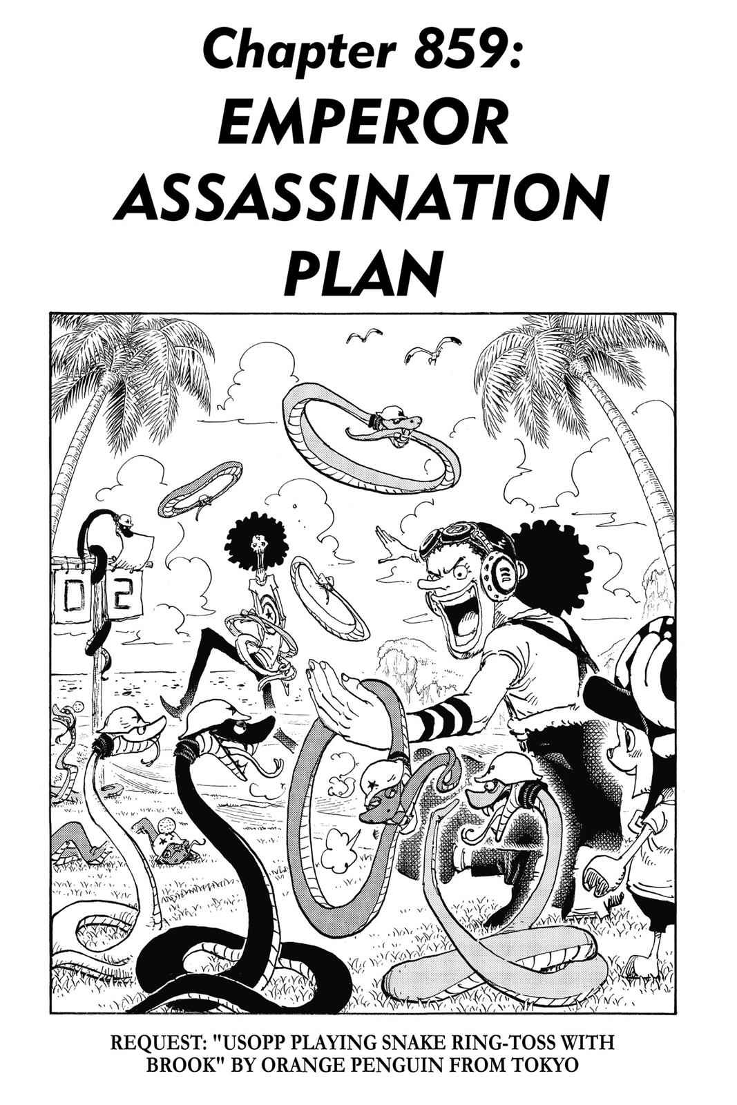 One Piece Chapter 859 Page 7