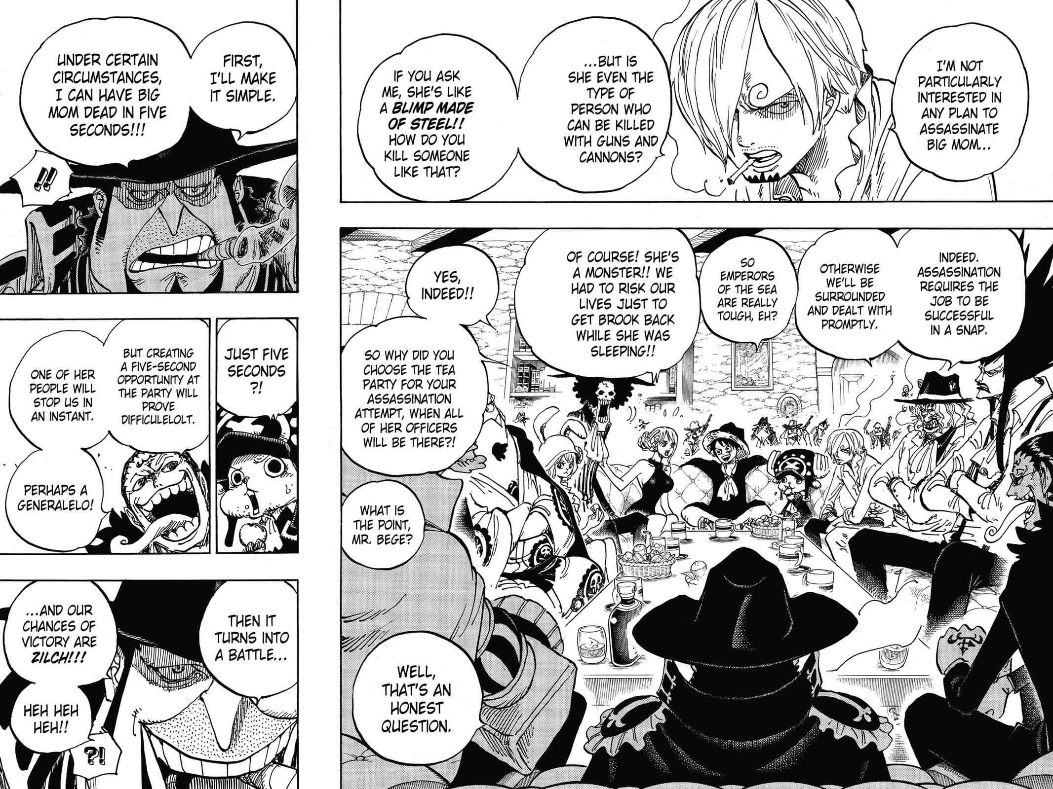 One Piece Chapter 859 Page 8