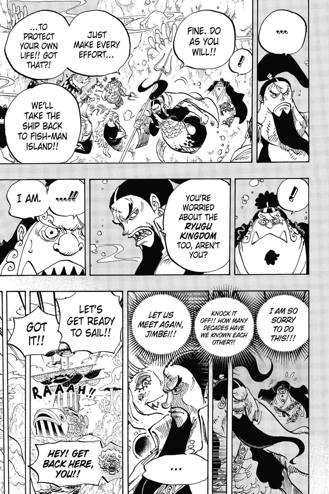 One Piece Chapter 860 Page 5
