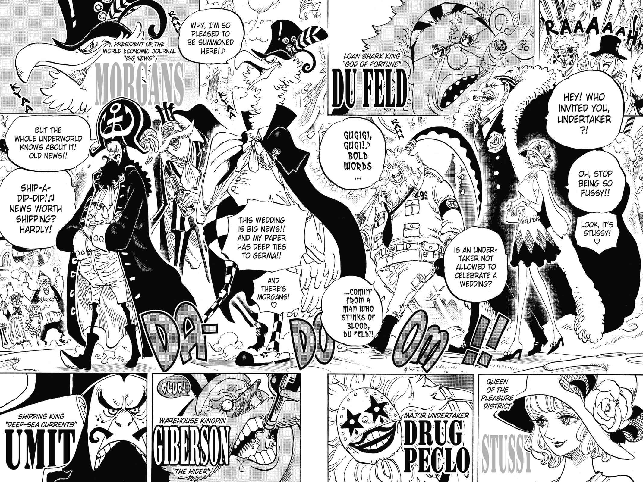 One Piece Chapter 860 Page 7