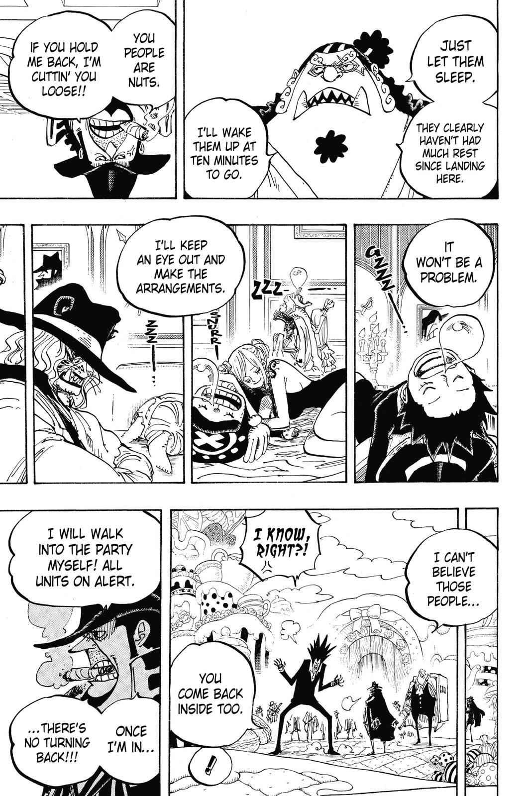 One Piece Chapter 861 Page 11