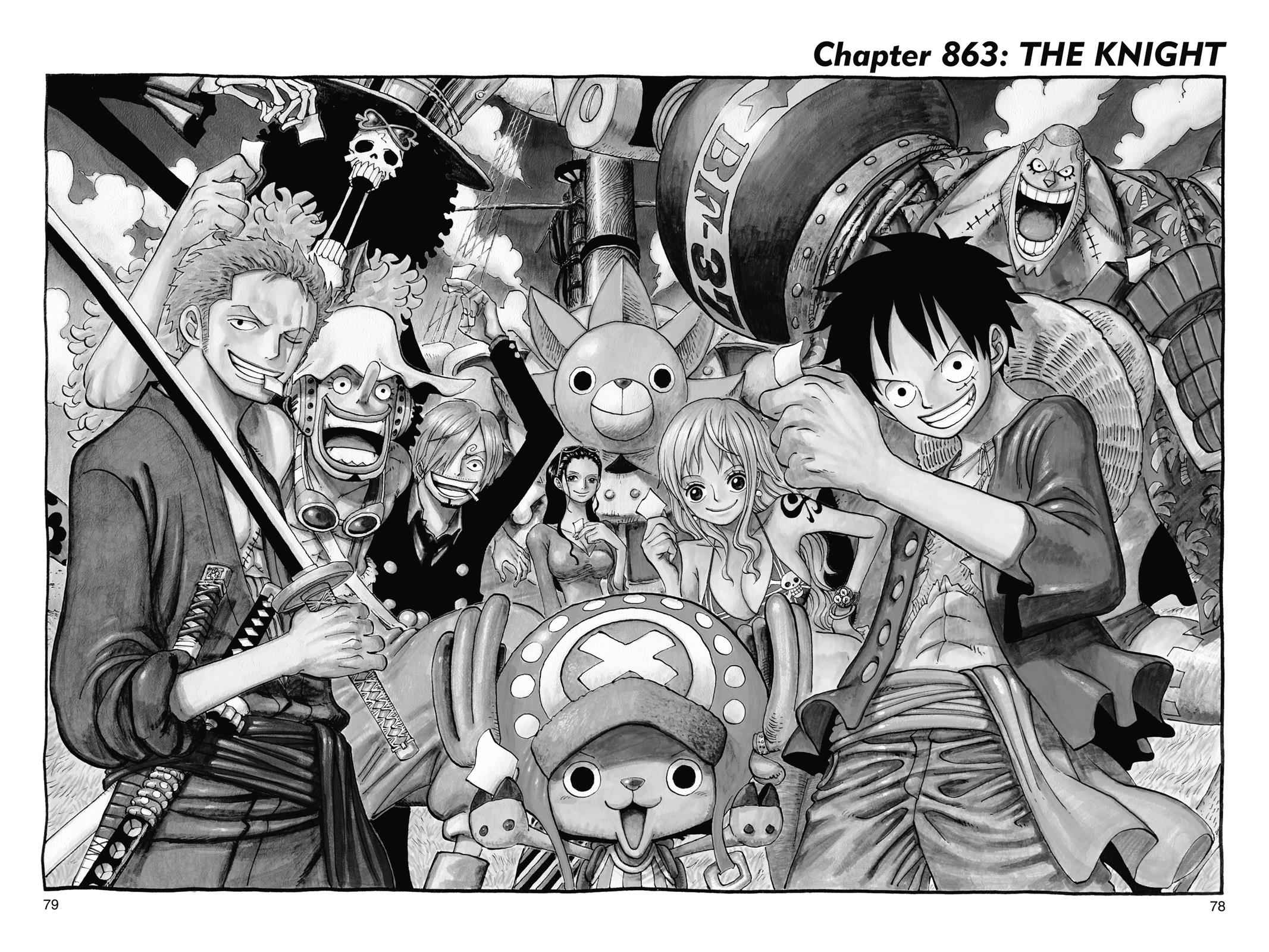 One Piece Chapter 863 Page 1