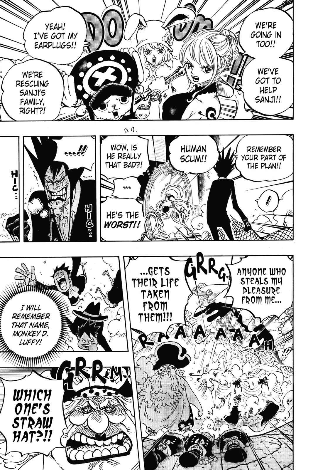 One Piece Chapter 863 Page 9