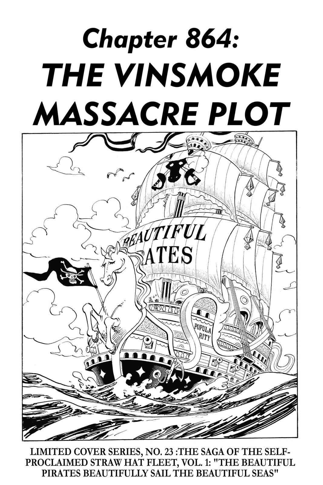 One Piece Chapter 864 Page 1