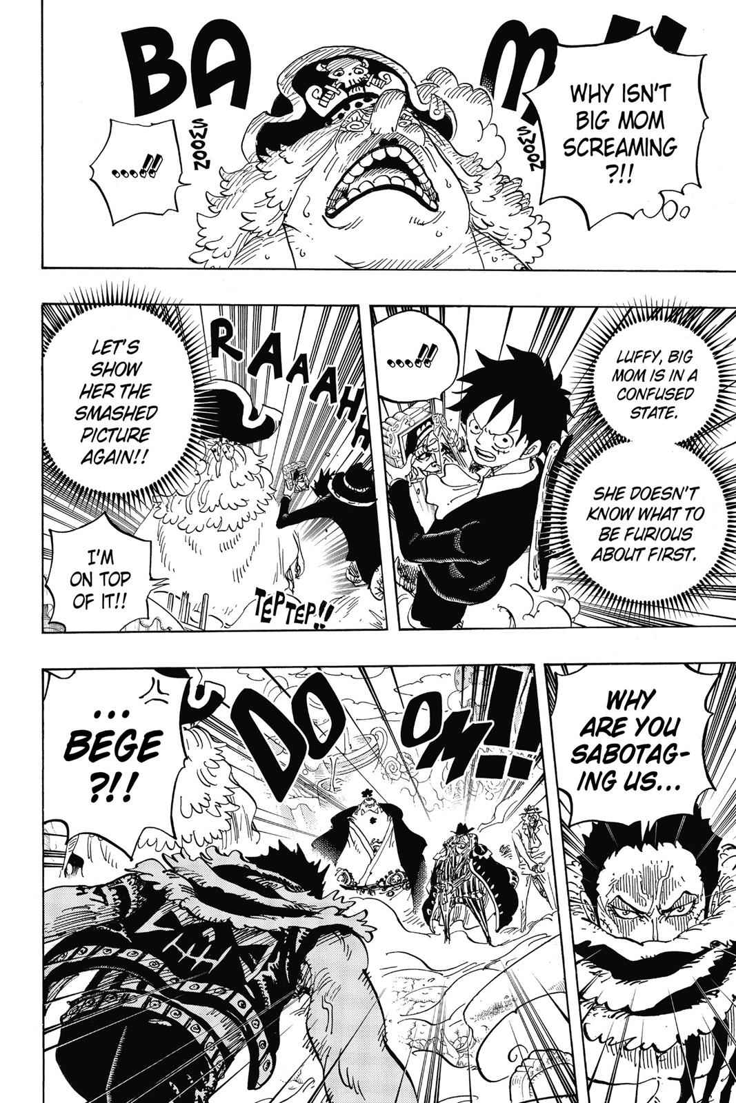 One Piece Chapter 865 Page 4