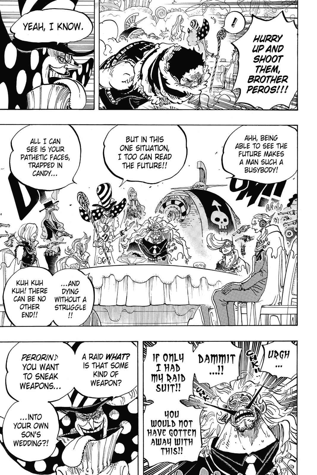 One Piece Chapter 865 Page 5