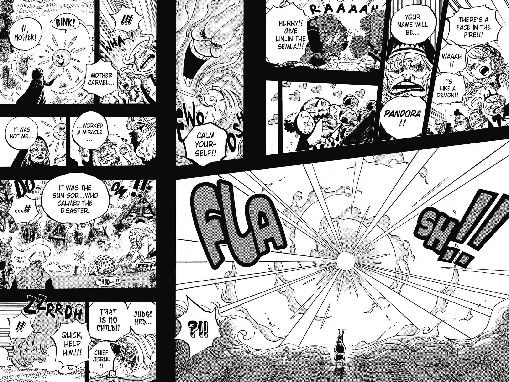 One Piece Chapter 867 Page 5
