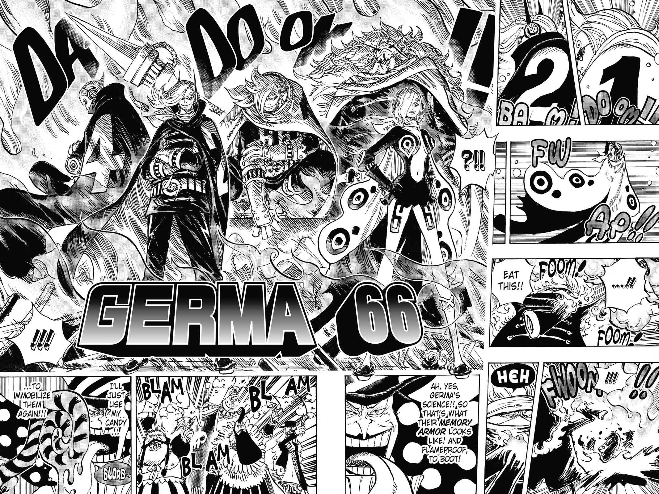 One Piece Chapter 869 Page 8