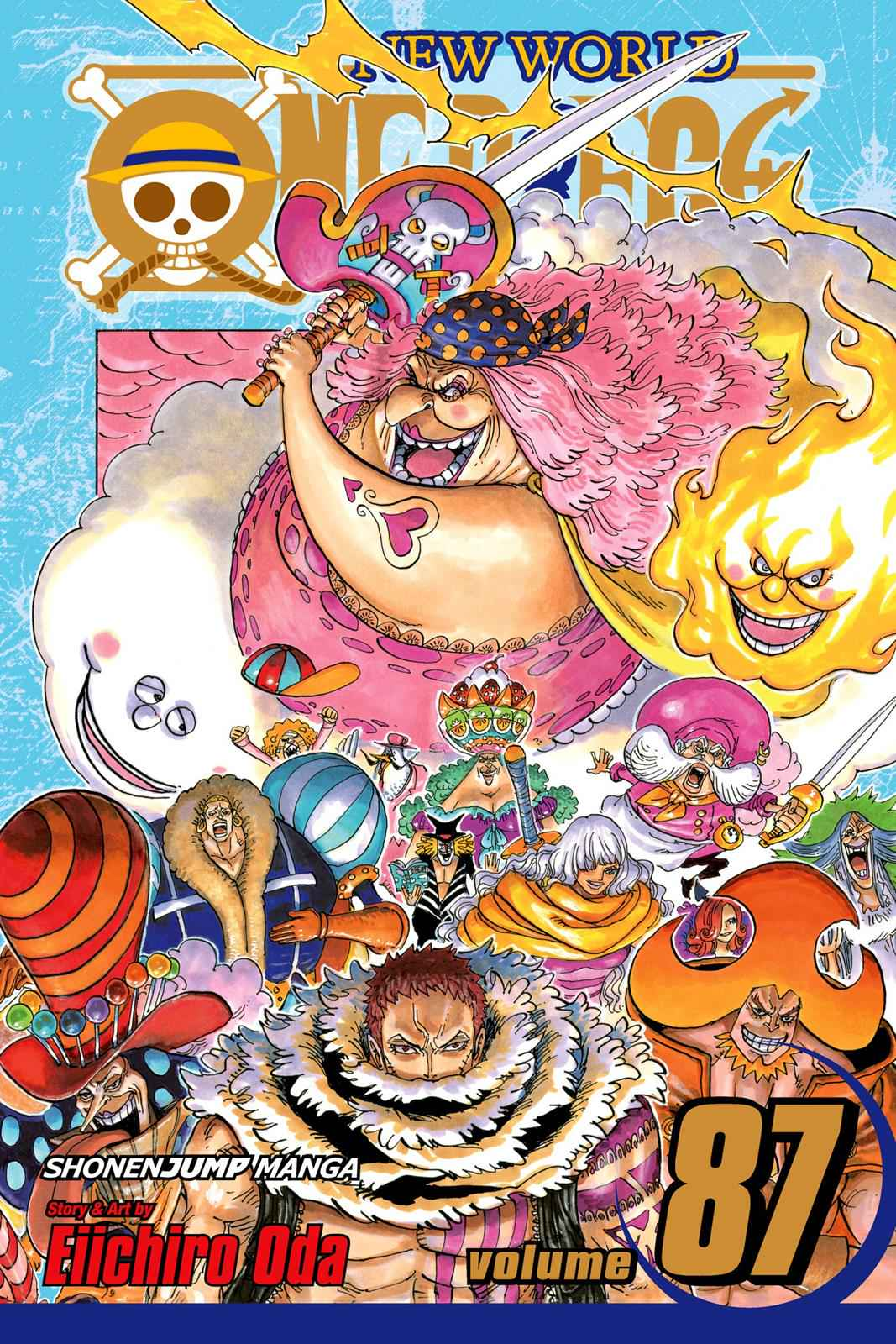 One Piece Chapter 870 Page 1