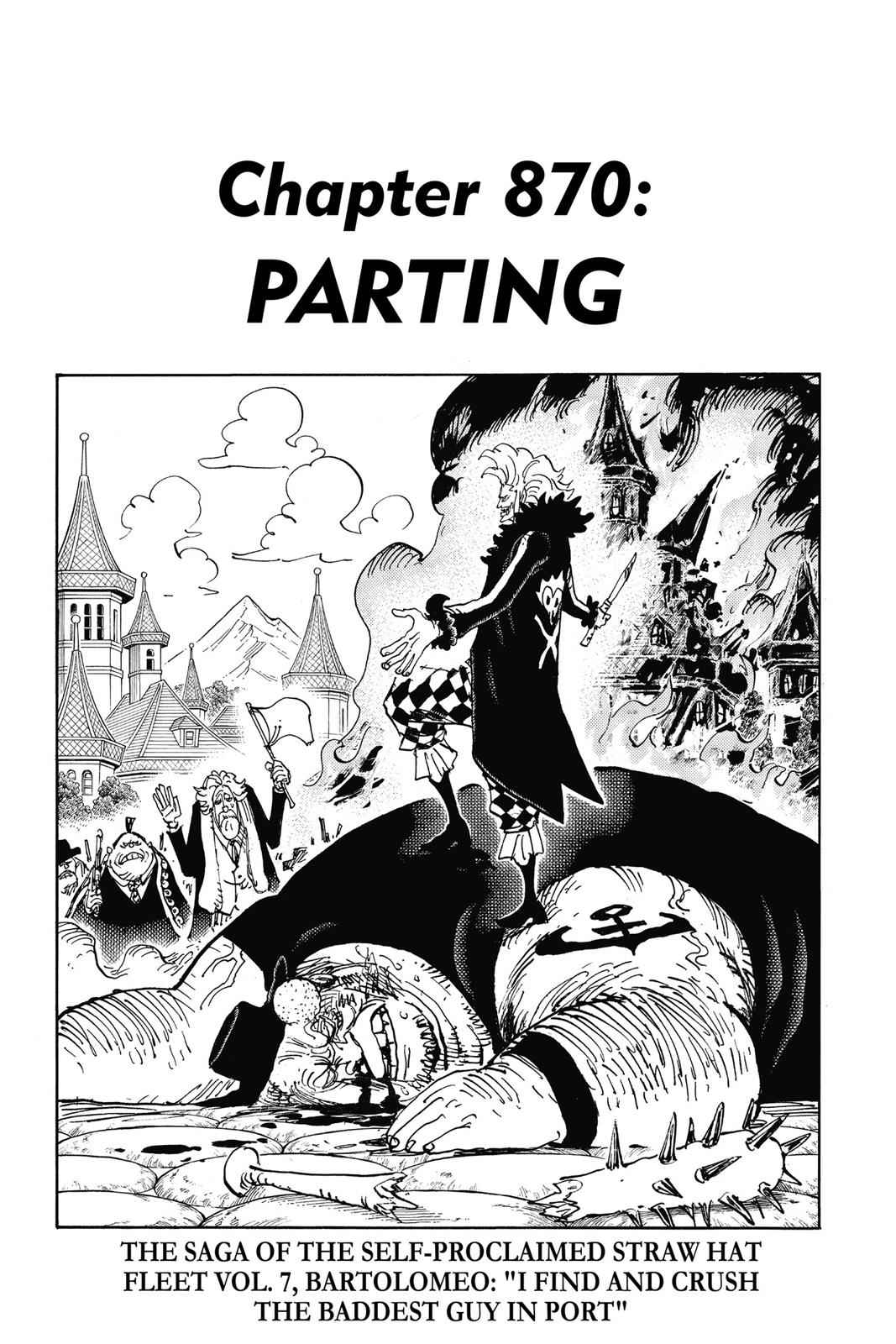 One Piece Chapter 870 Page 7
