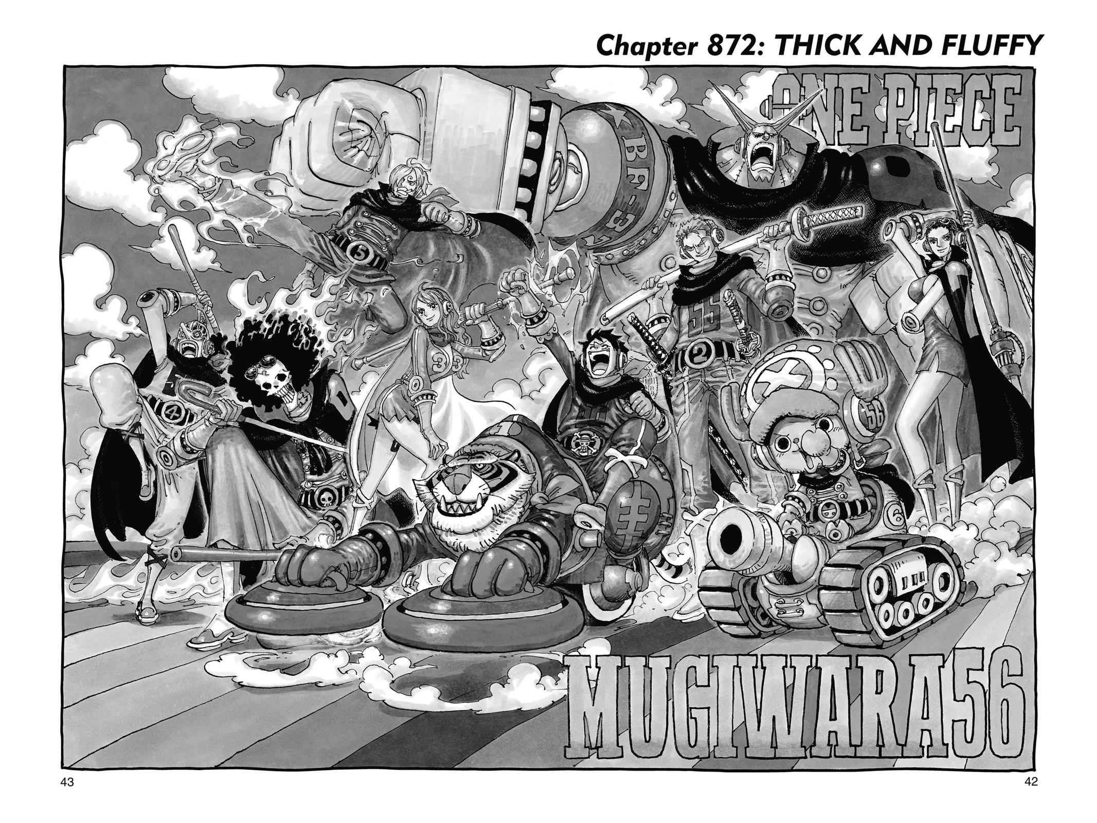 One Piece Chapter 872 Page 1