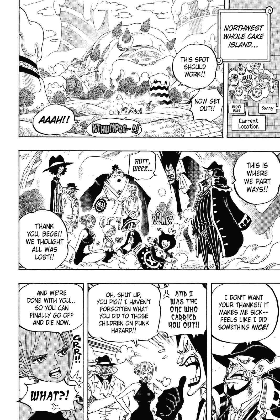 One Piece Chapter 872 Page 14