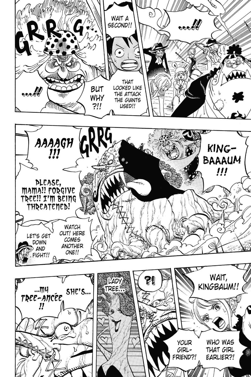 One Piece Chapter 874 Page 5