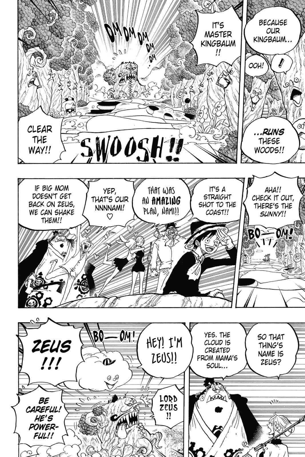 One Piece Chapter 874 Page 9