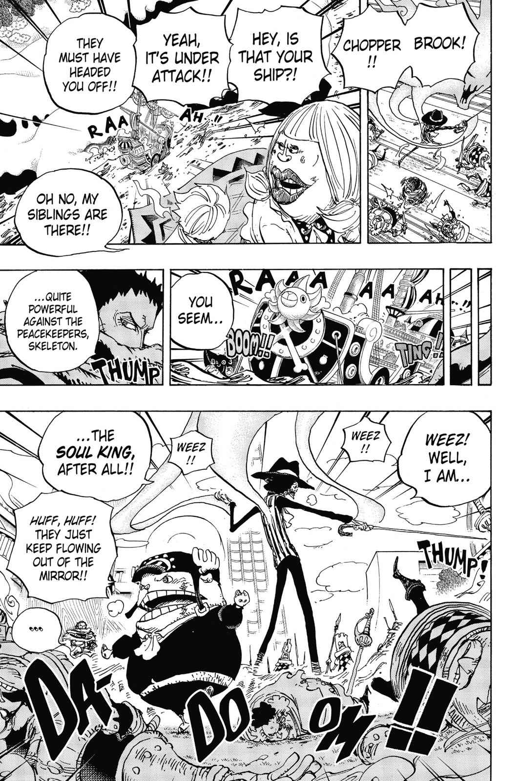 One Piece Chapter 876 Page 14