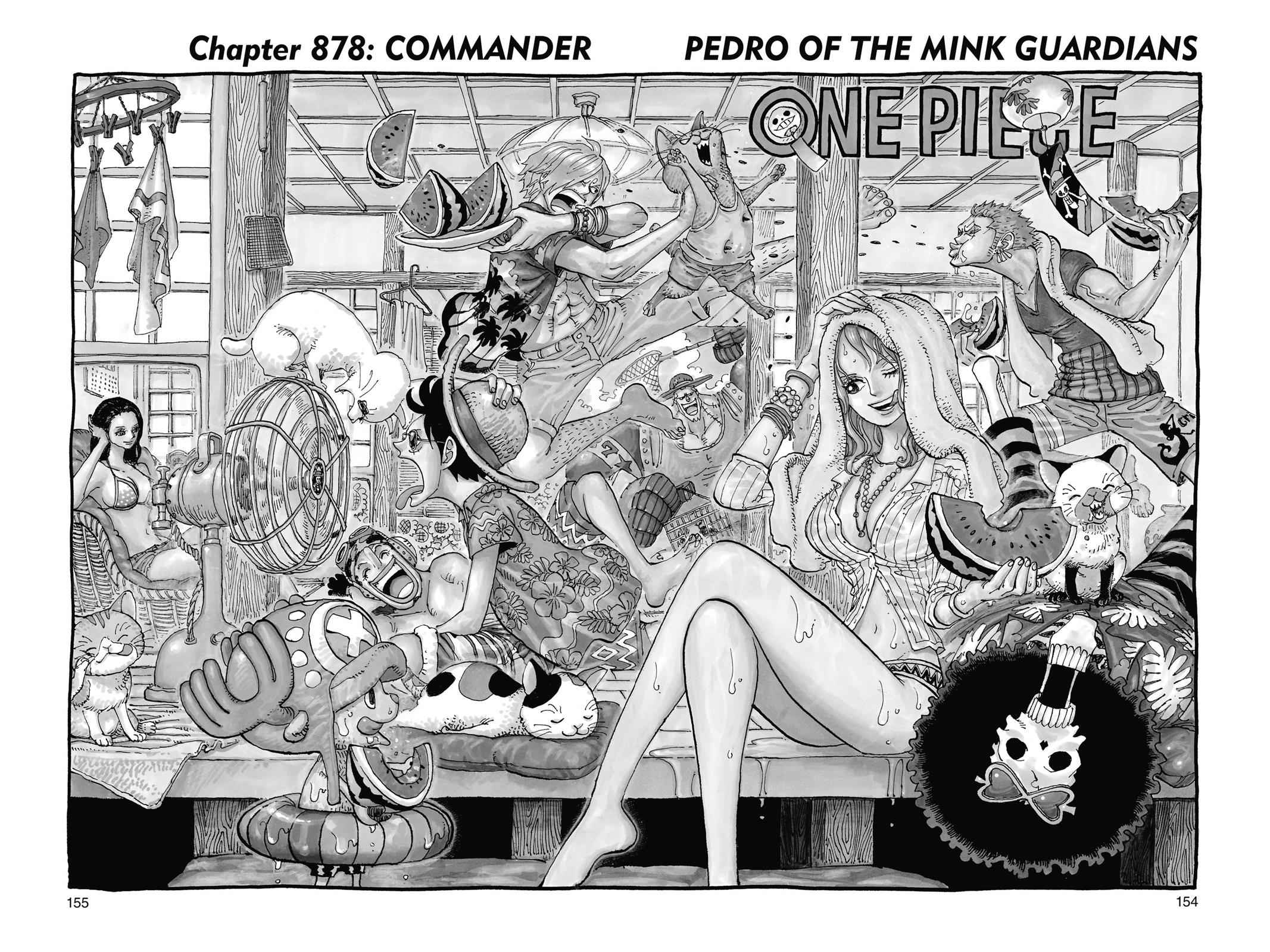 One Piece Chapter 878 Page 1