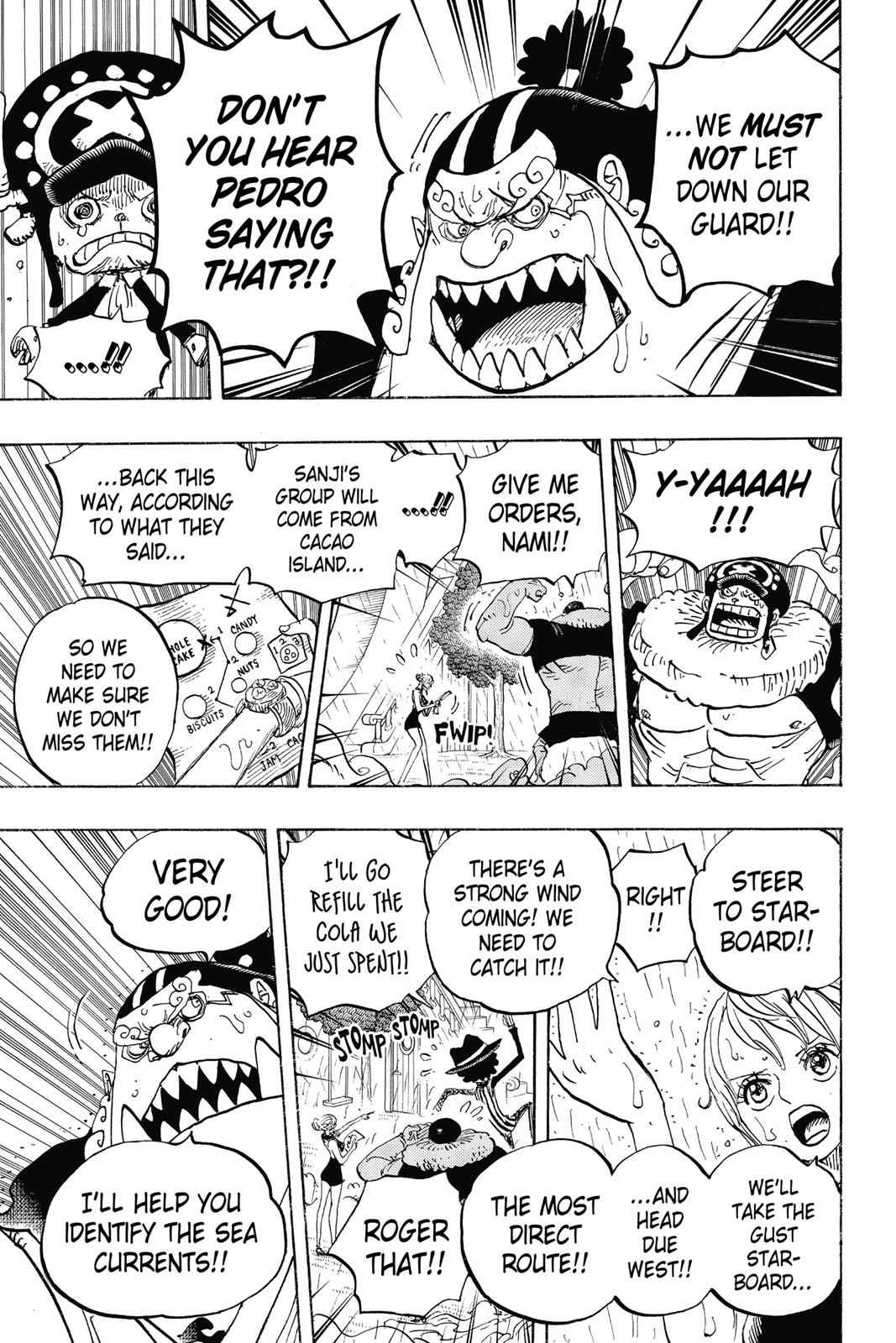 One Piece Chapter 879 Page 5