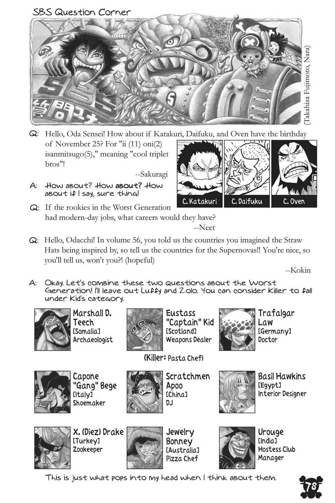 One Piece Chapter 883 Page 17
