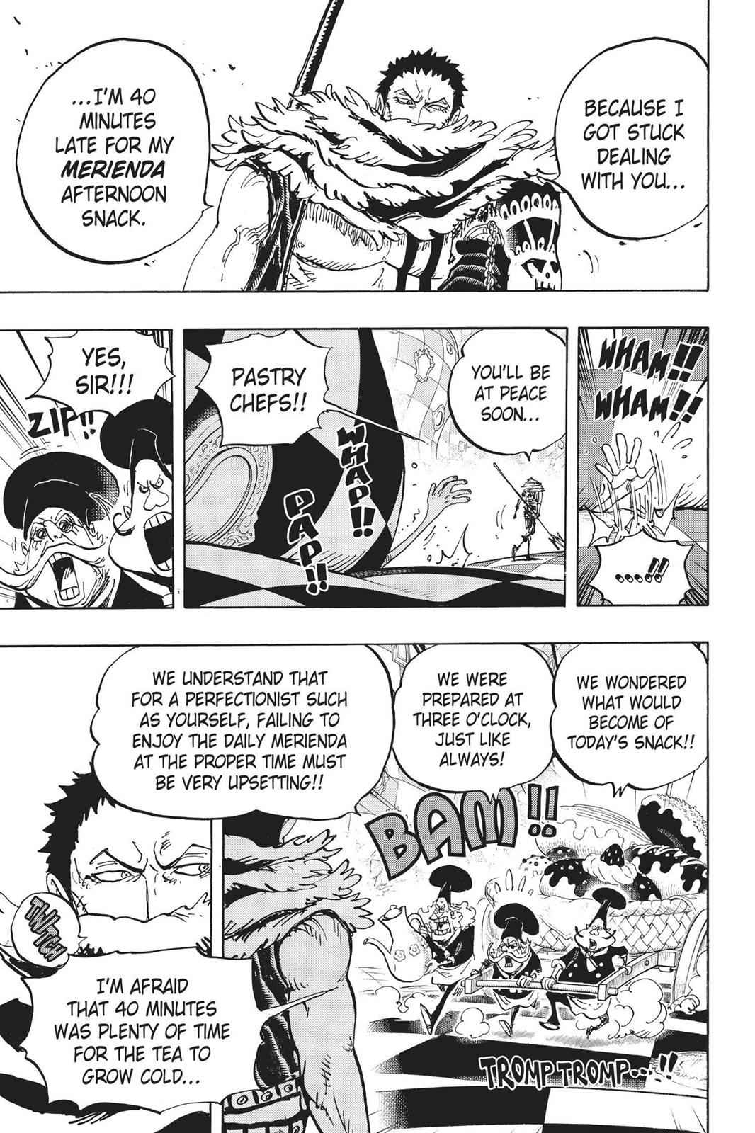 One Piece Chapter 883 Page 5