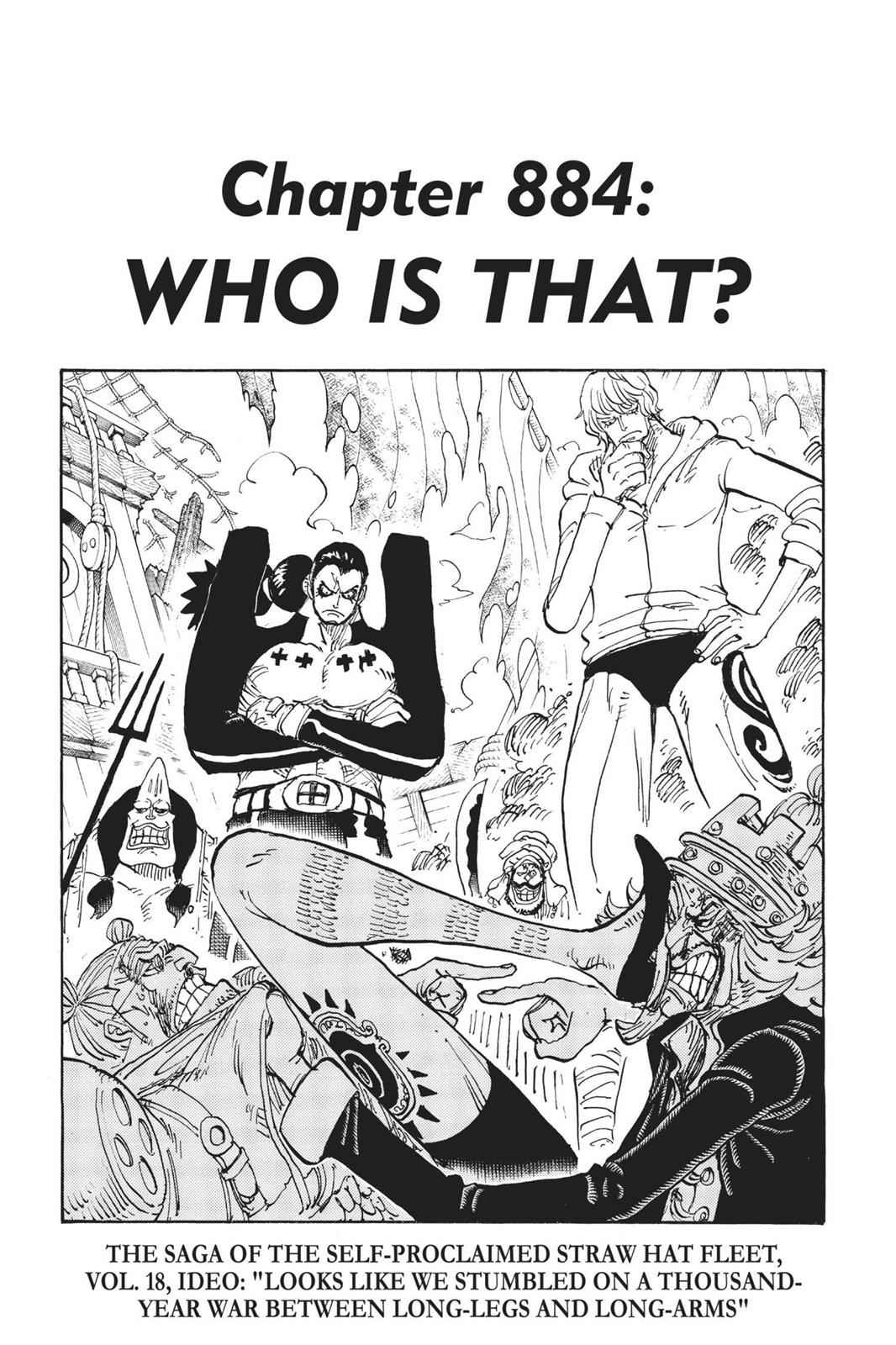 One Piece Chapter 884 Page 1