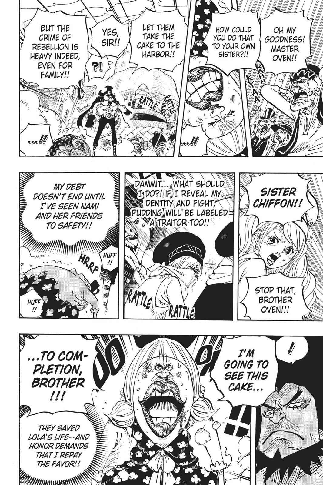 One Piece Chapter 886 Page 6