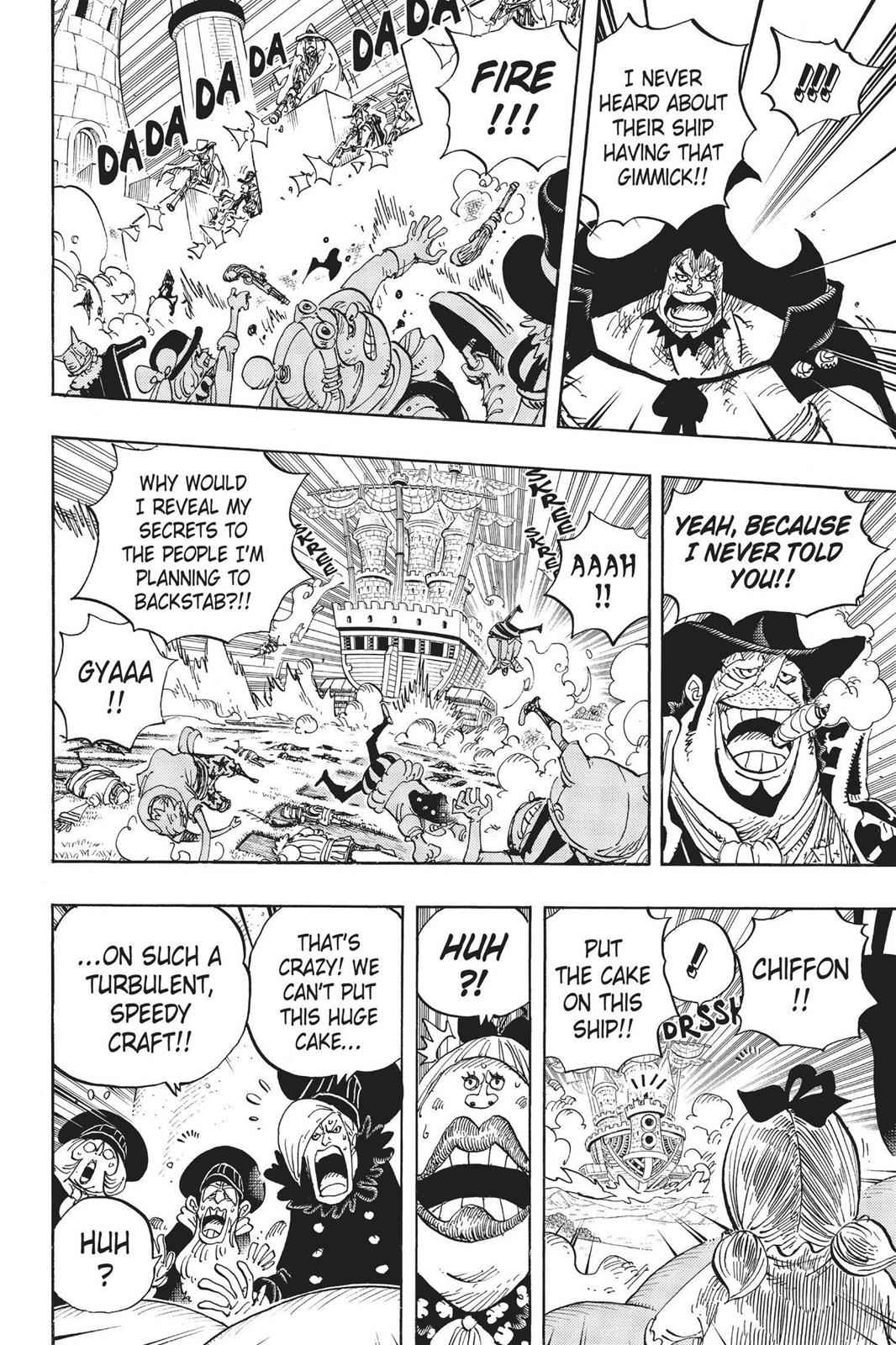 One Piece Chapter 887 Page 4