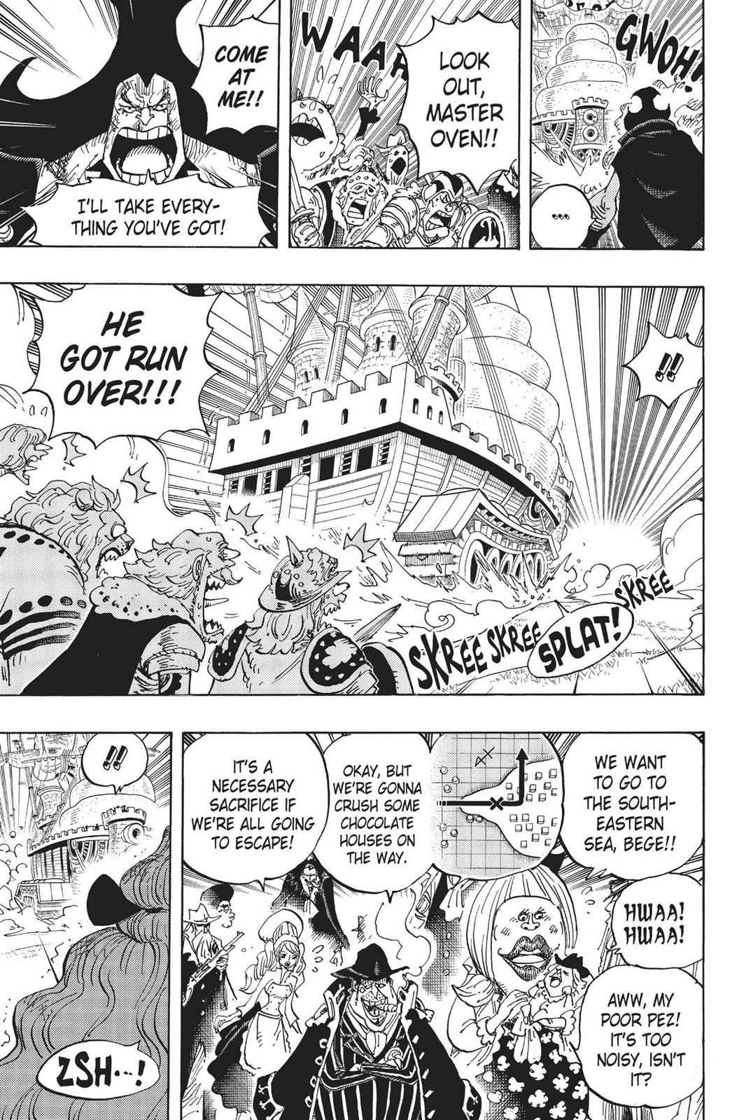 One Piece Chapter 887 Page 7