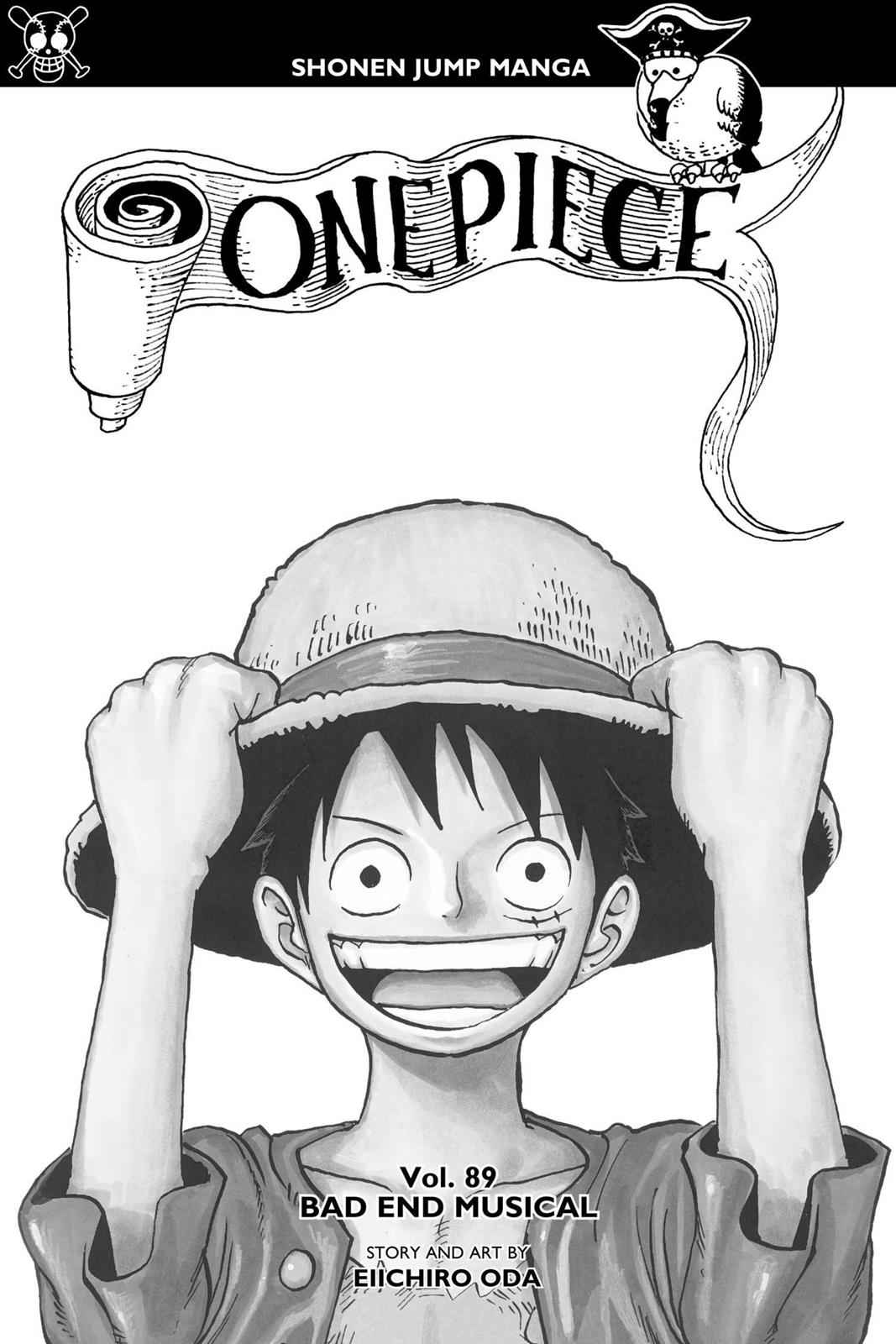 One Piece Chapter 890 Page 2