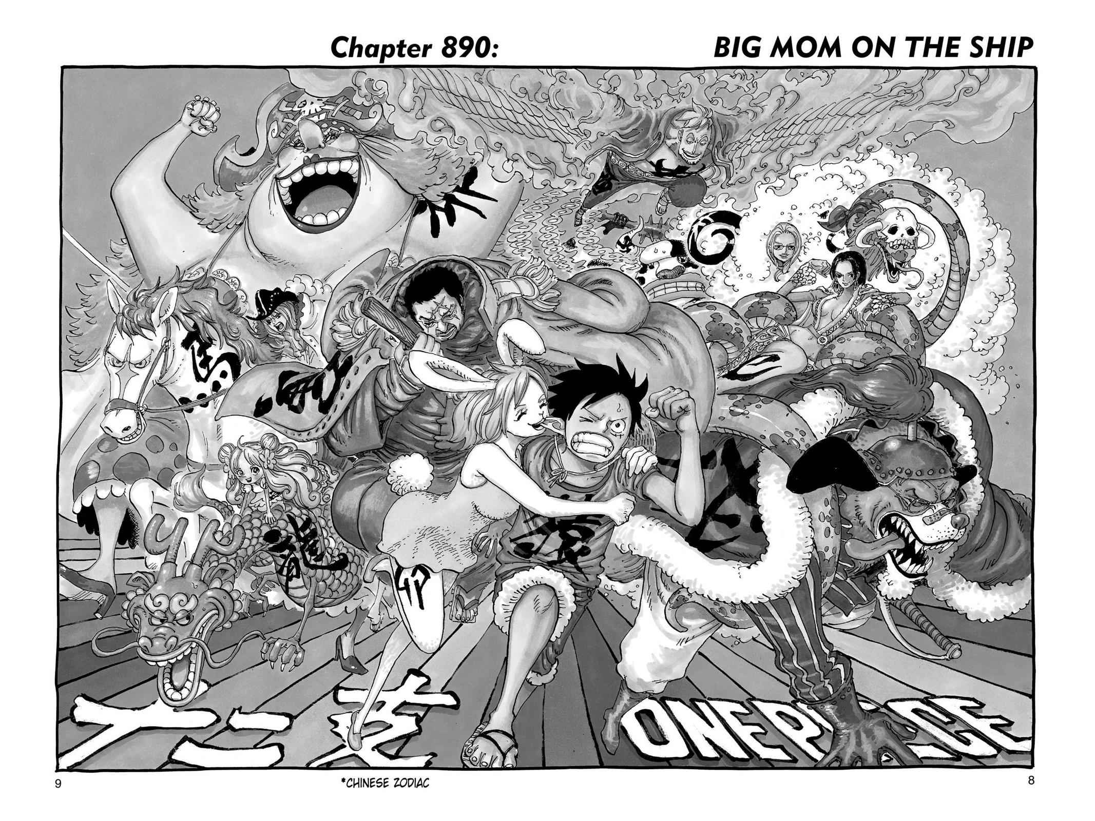 One Piece Chapter 890 Page 8