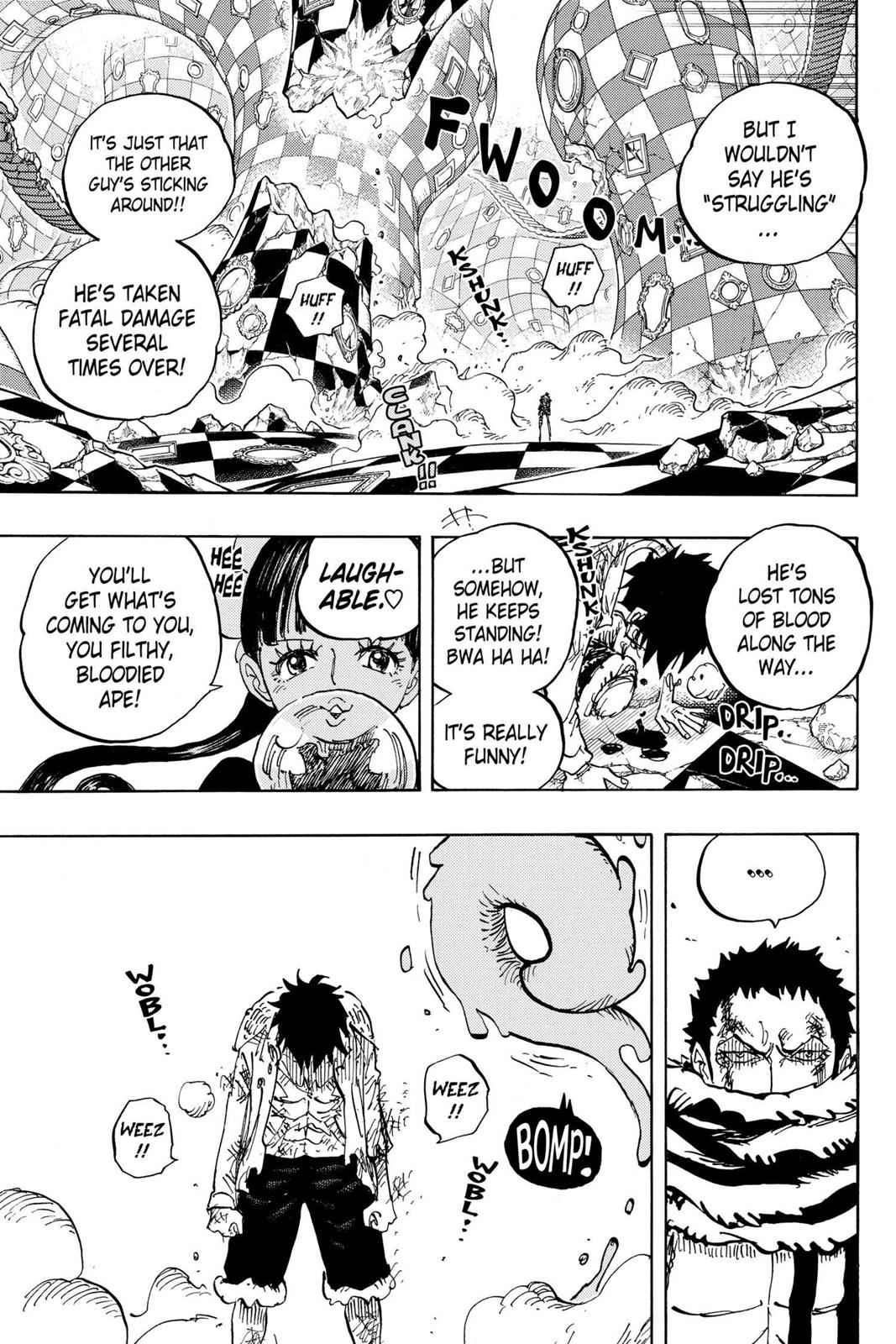 One Piece Chapter 891 Page 5