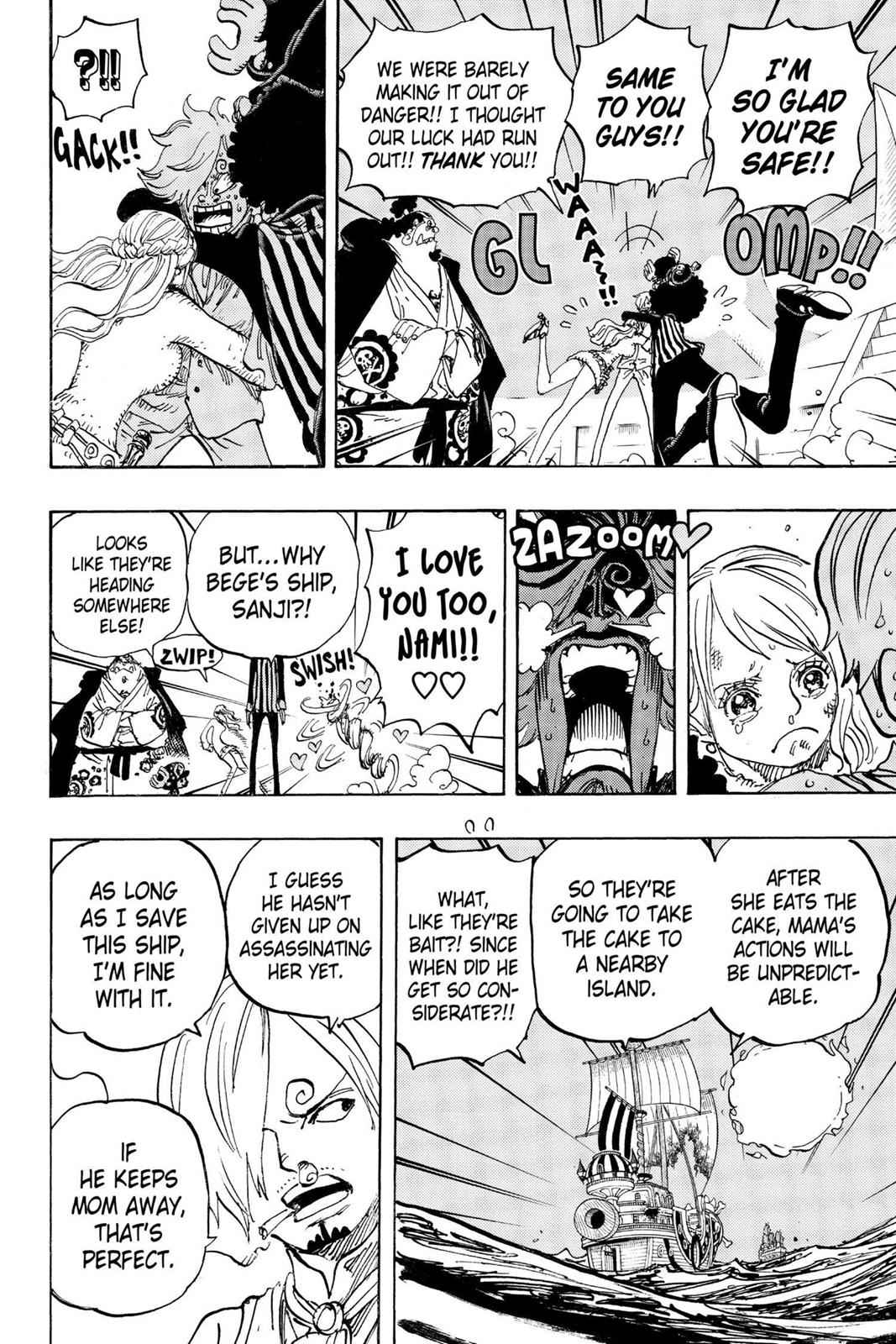 One Piece Chapter 892 Page 8