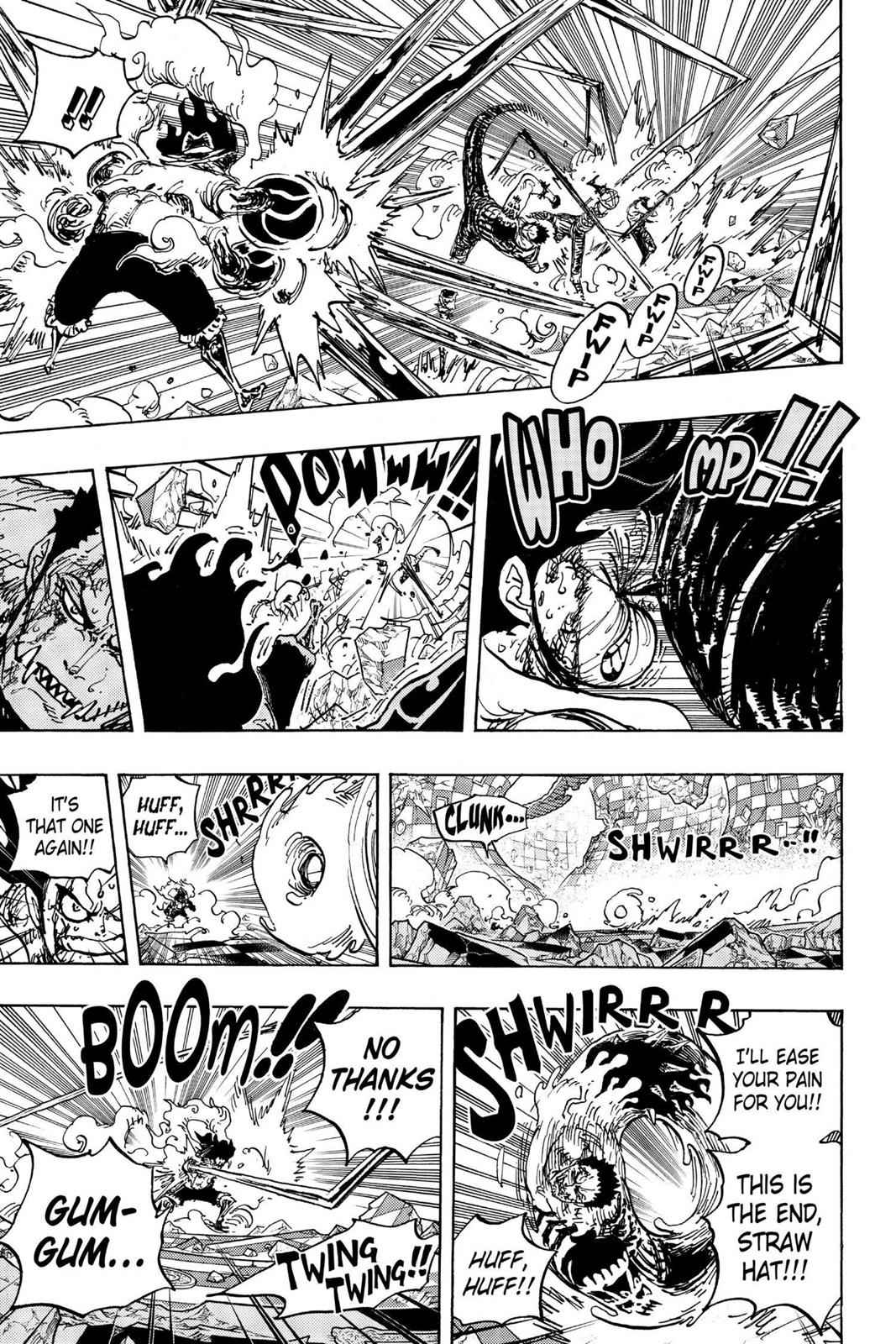 One Piece Chapter 895 Page 14