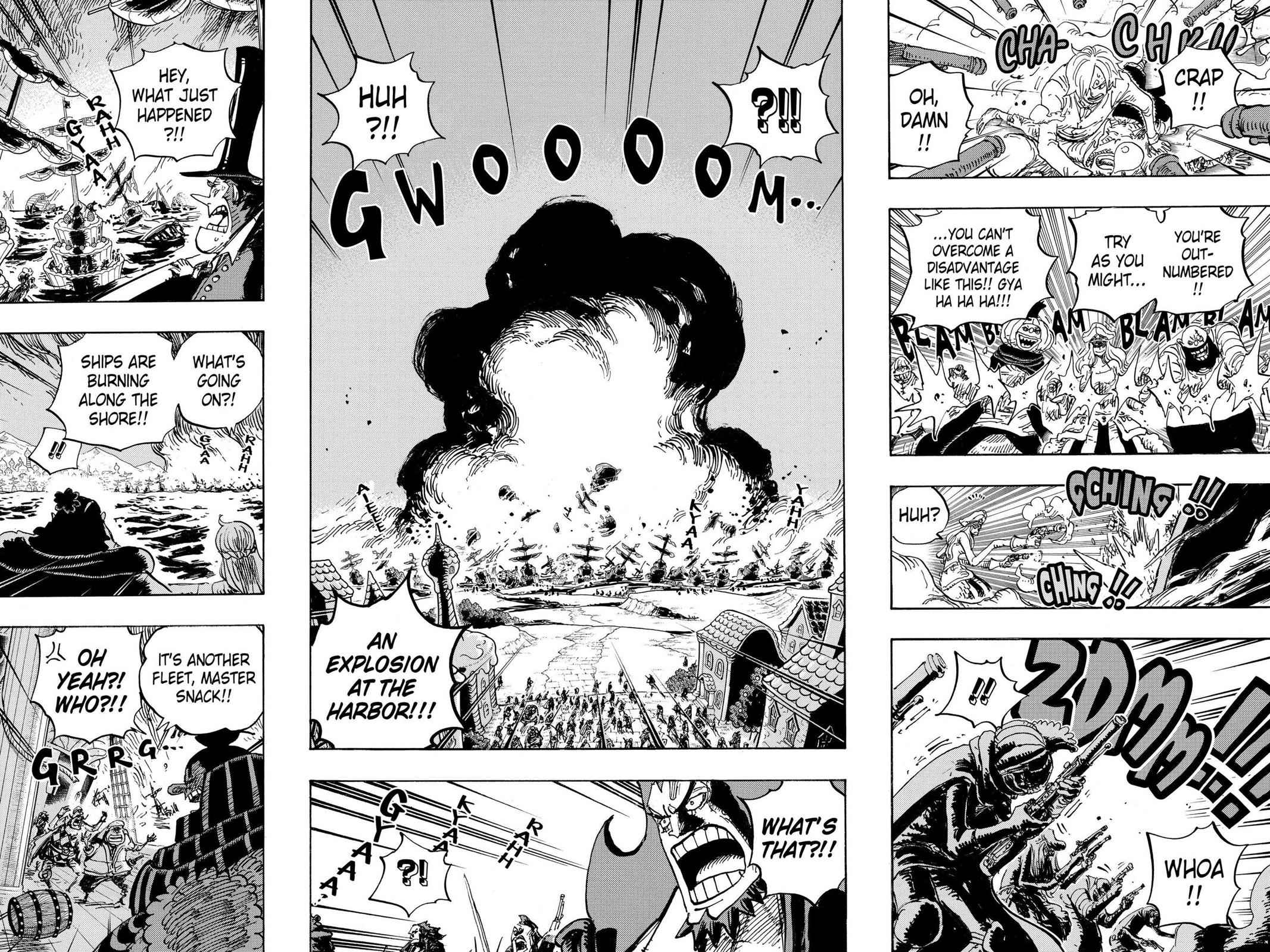 One Piece Chapter 897 Page 13