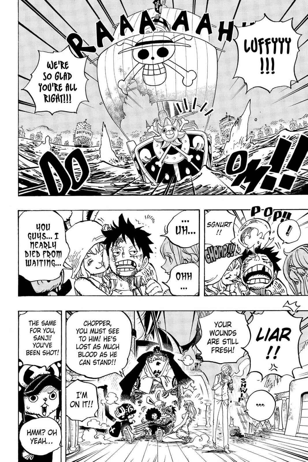 One Piece Chapter 899 Page 8