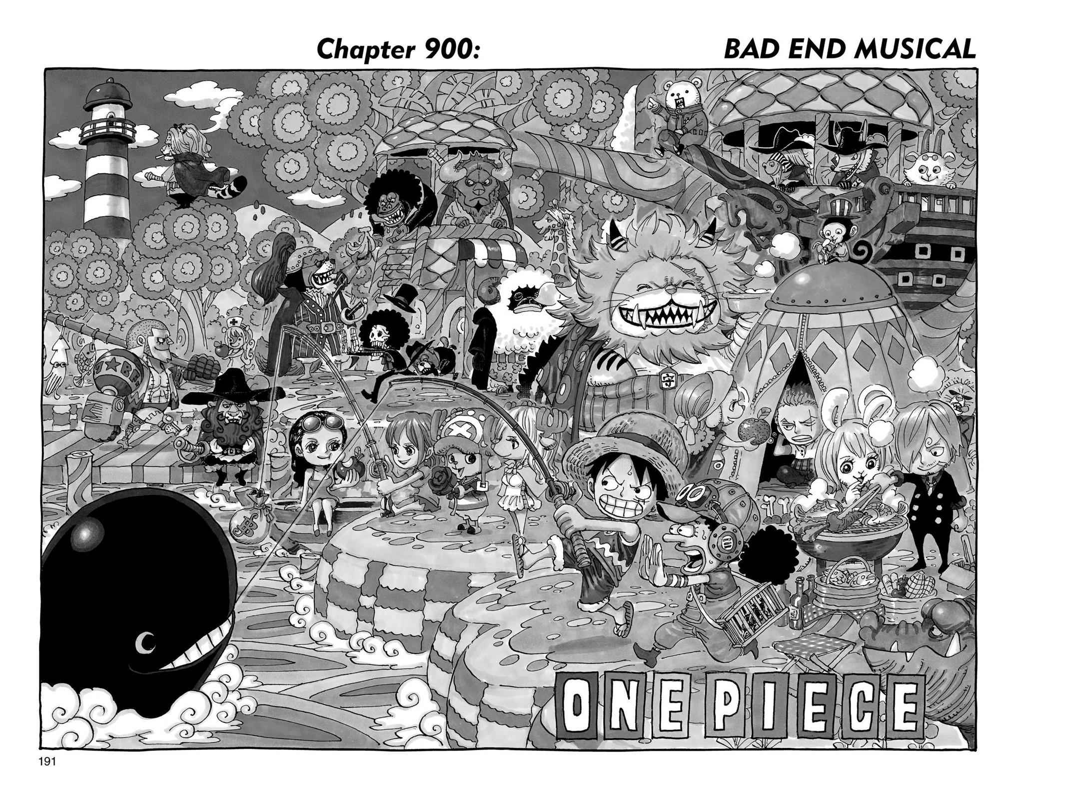 One Piece Chapter 900 Page 1