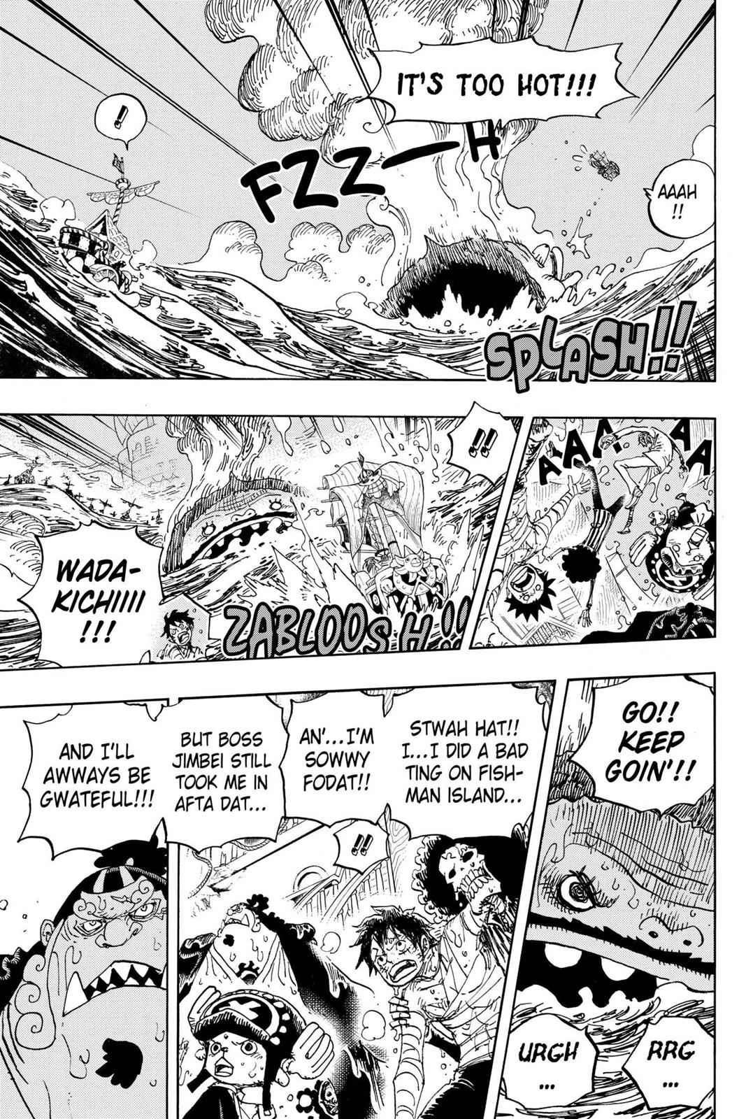 One Piece Chapter 901 Page 13