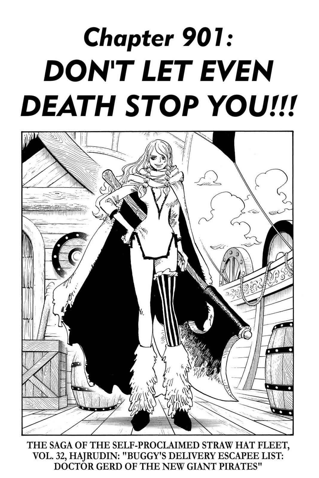 One Piece Chapter 901 Page 7