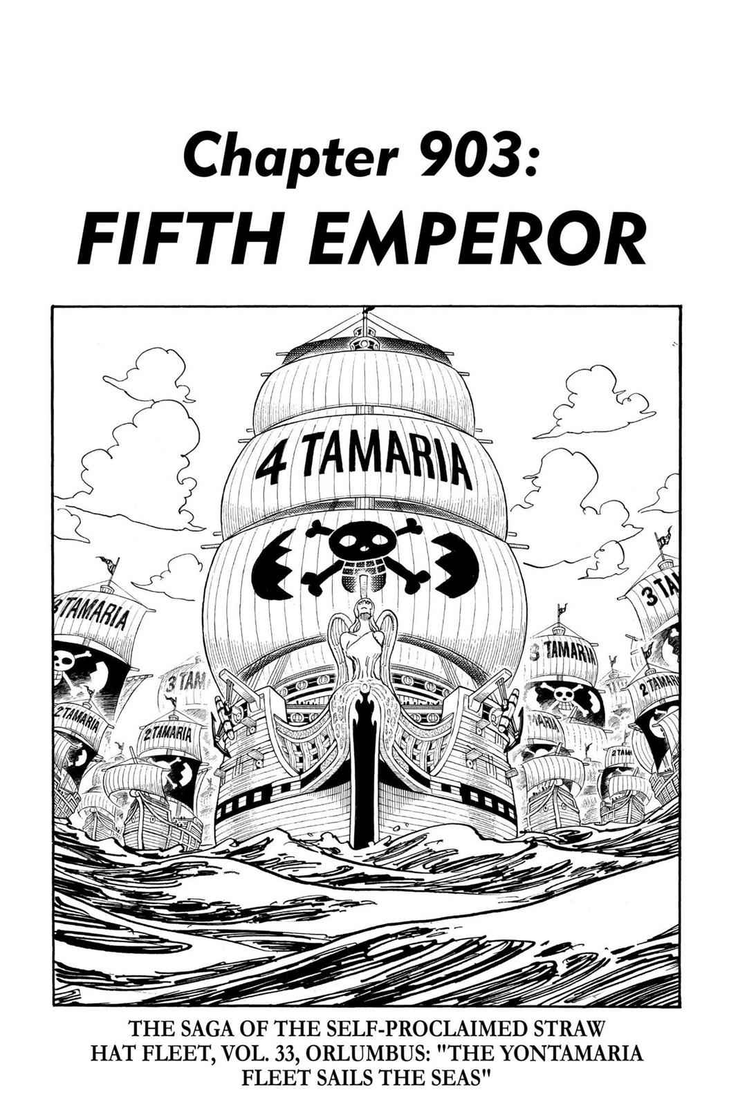 One Piece Chapter 903 Page 1