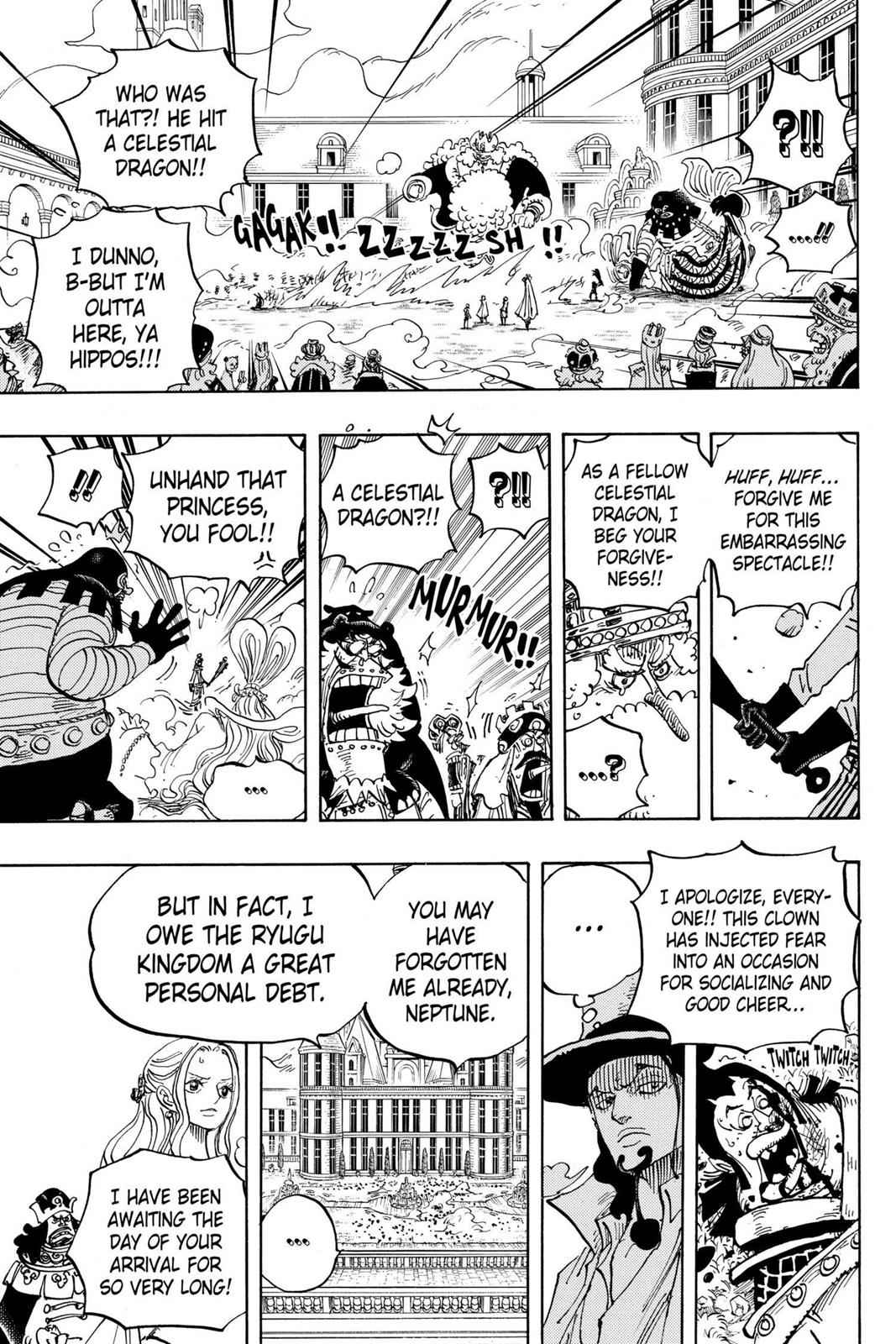 One Piece Chapter 907 Page 15